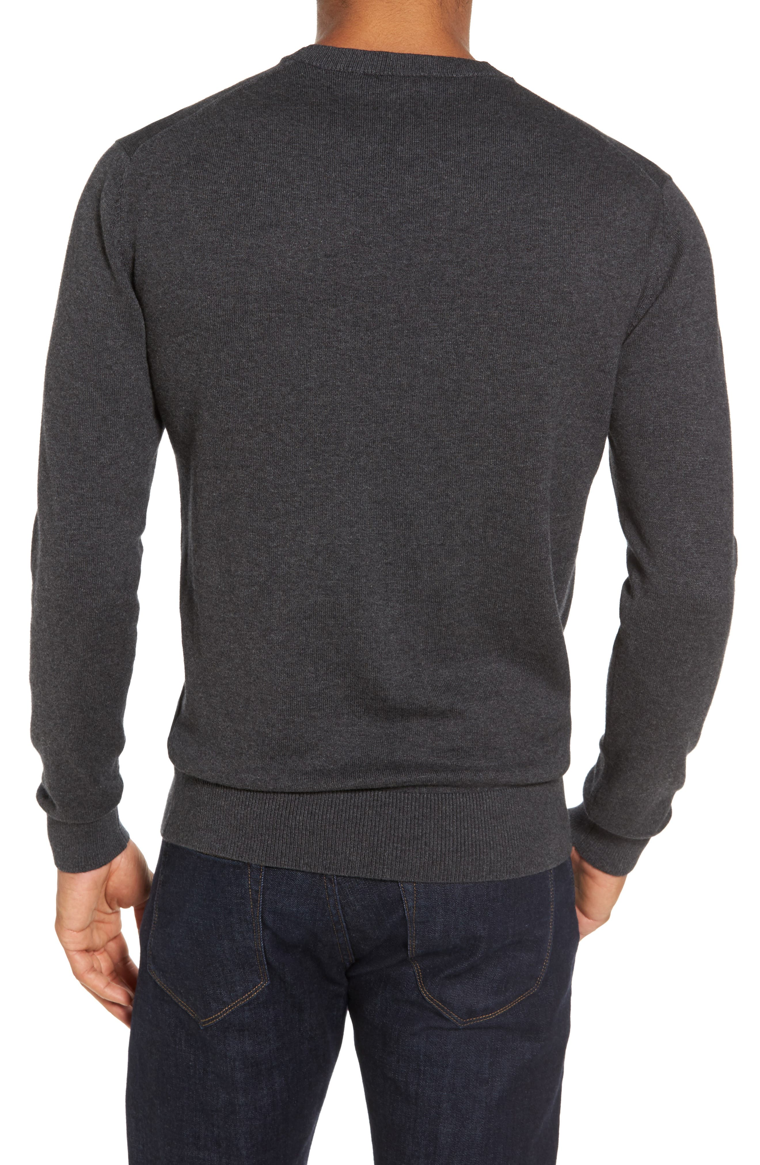 Portrait Crewneck Sweater,                             Alternate thumbnail 2, color,                             015