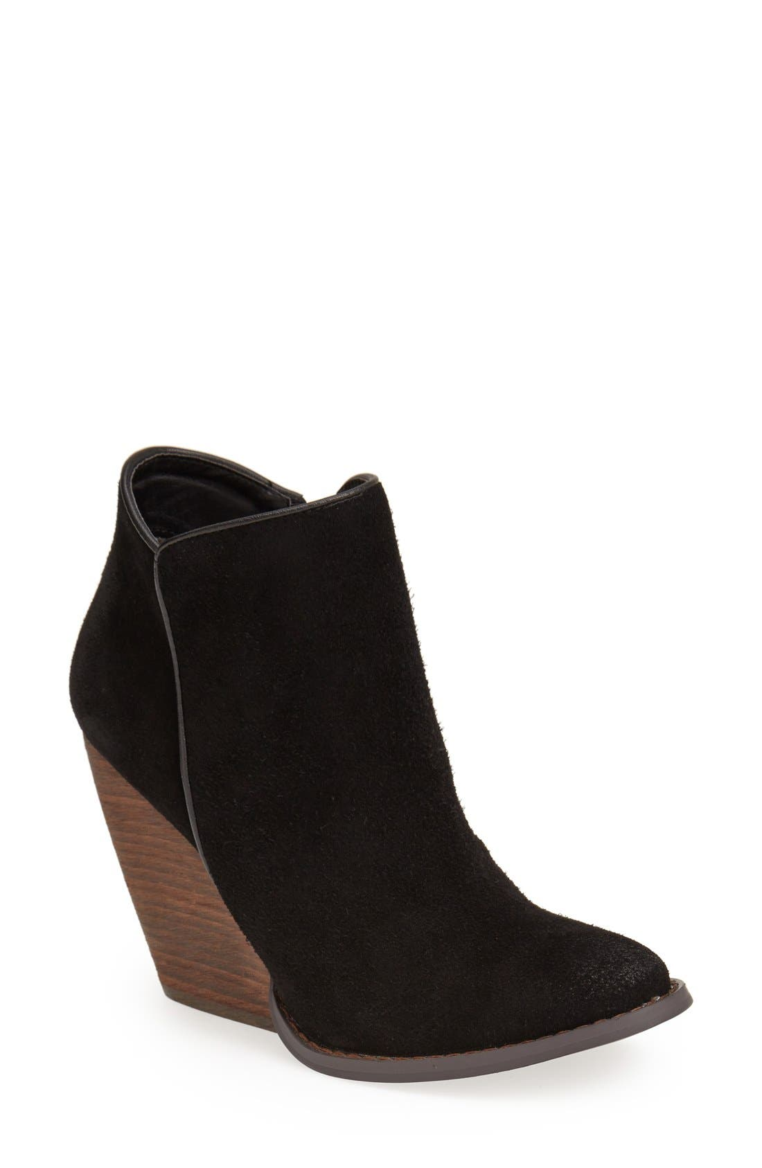 'Whitby' Demi Wedge Bootie,                             Main thumbnail 1, color,                             001