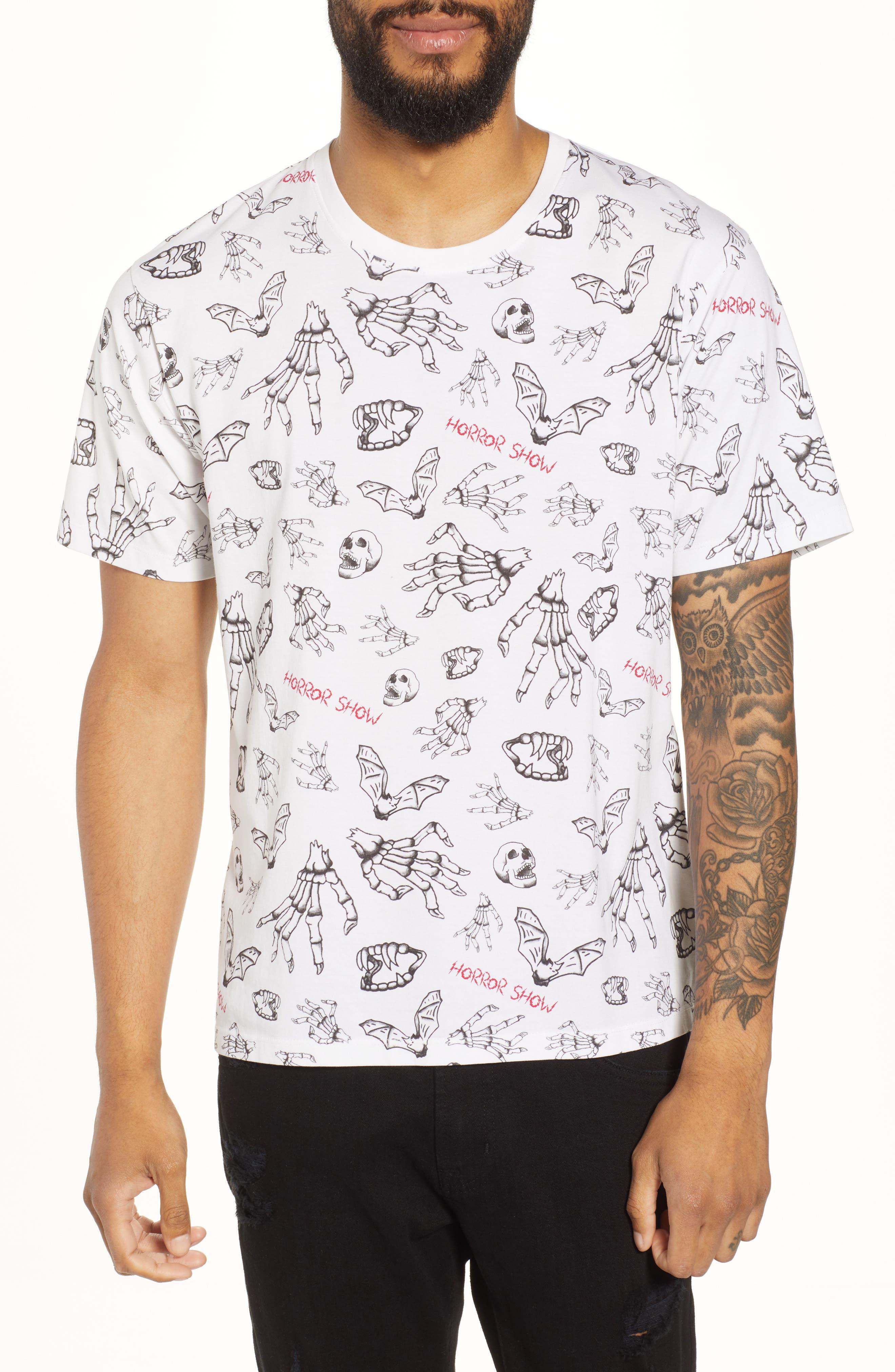Horror Show Graphic T-Shirt,                         Main,                         color, 100