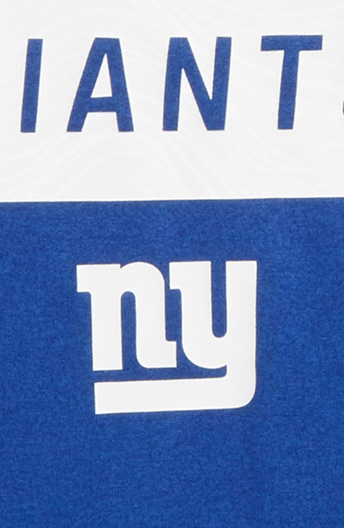 NFL New York Giants Dry Legend Lift T-Shirt,                             Alternate thumbnail 2, color,                             ROYAL