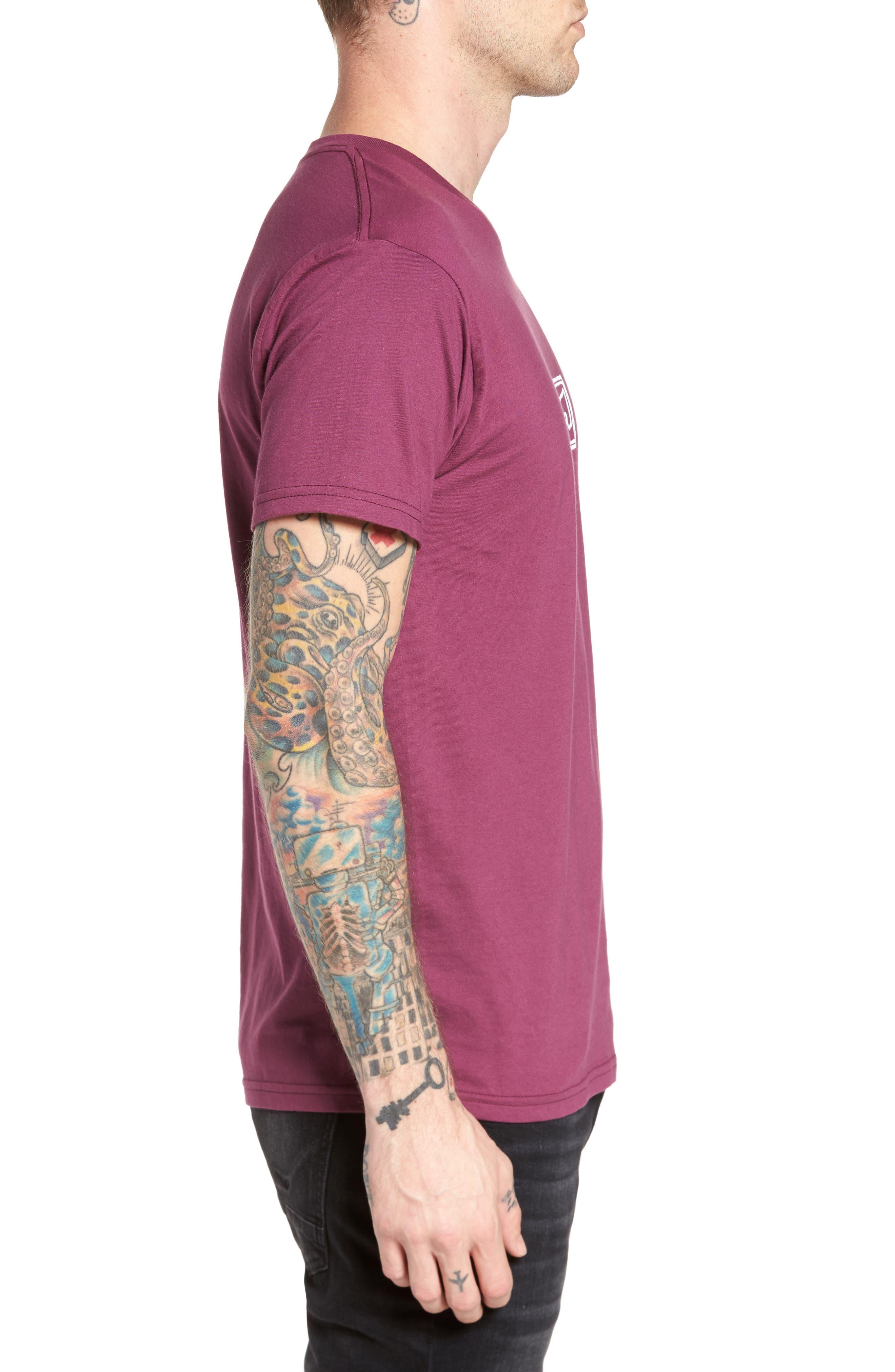 Eyes Graphic Premium T-Shirt,                             Alternate thumbnail 3, color,