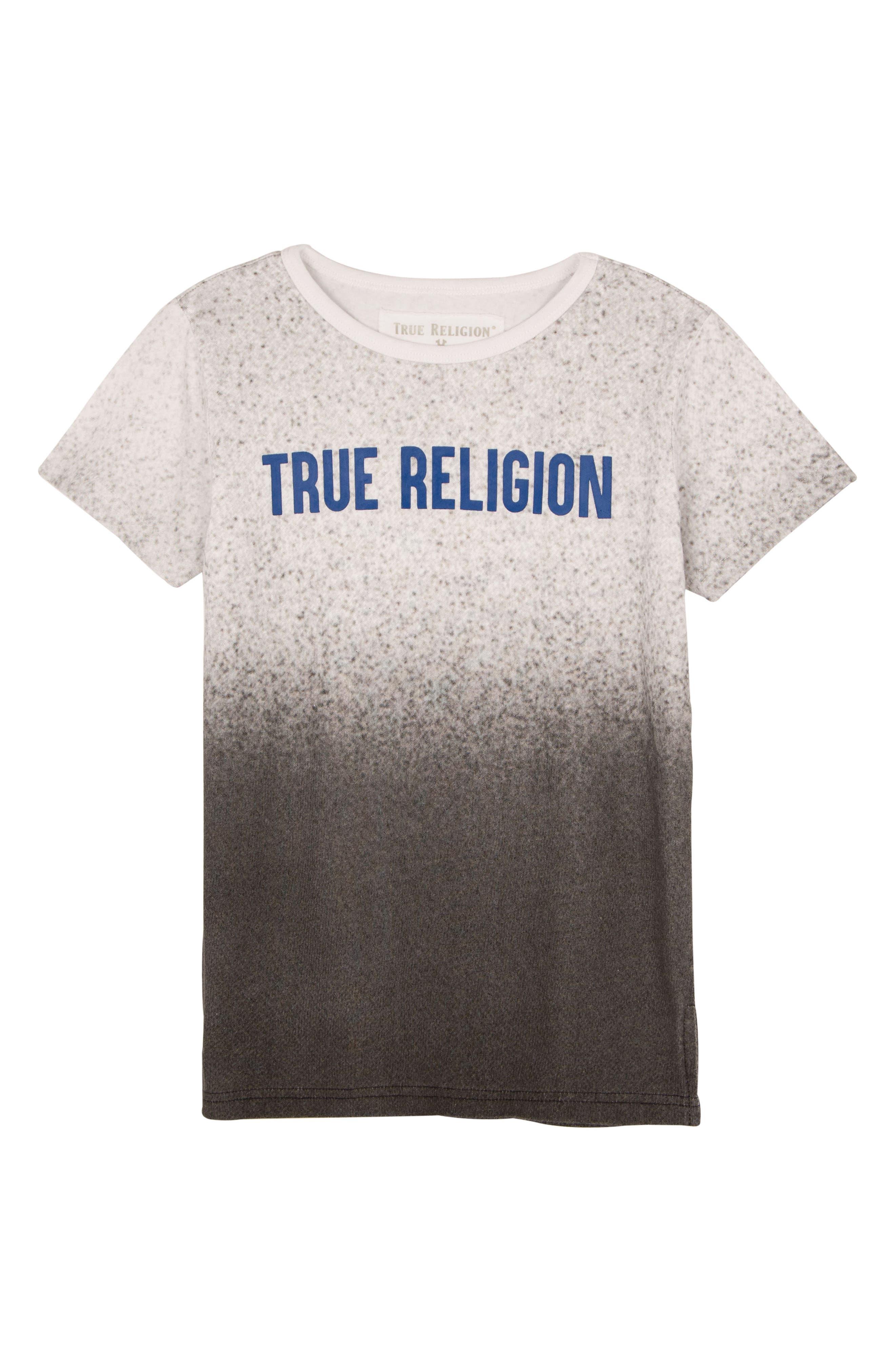 Speckle Gradient T-Shirt,                         Main,                         color, WHITE