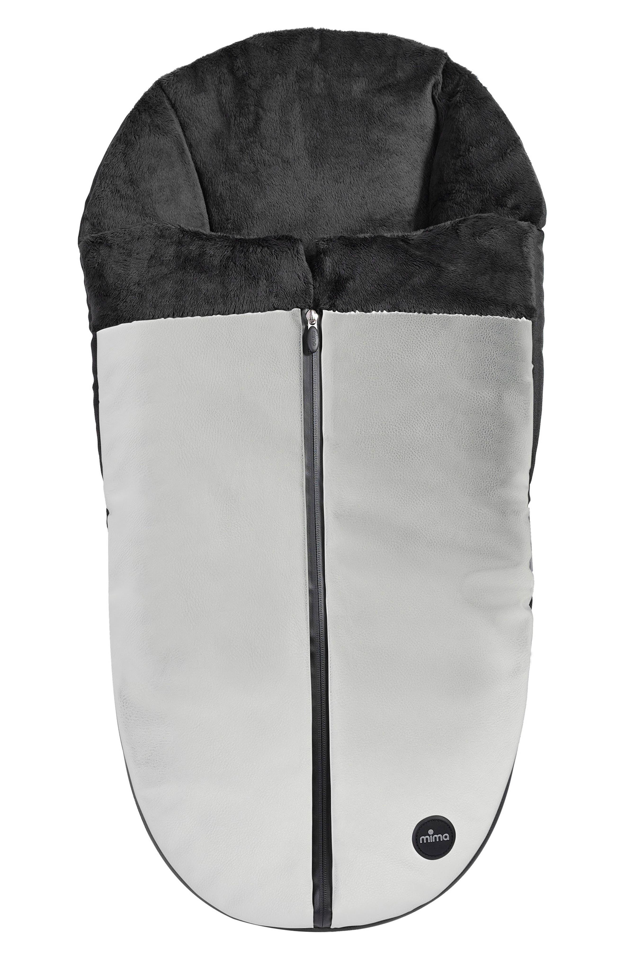 Faux Leather Footmuff,                         Main,                         color, 100