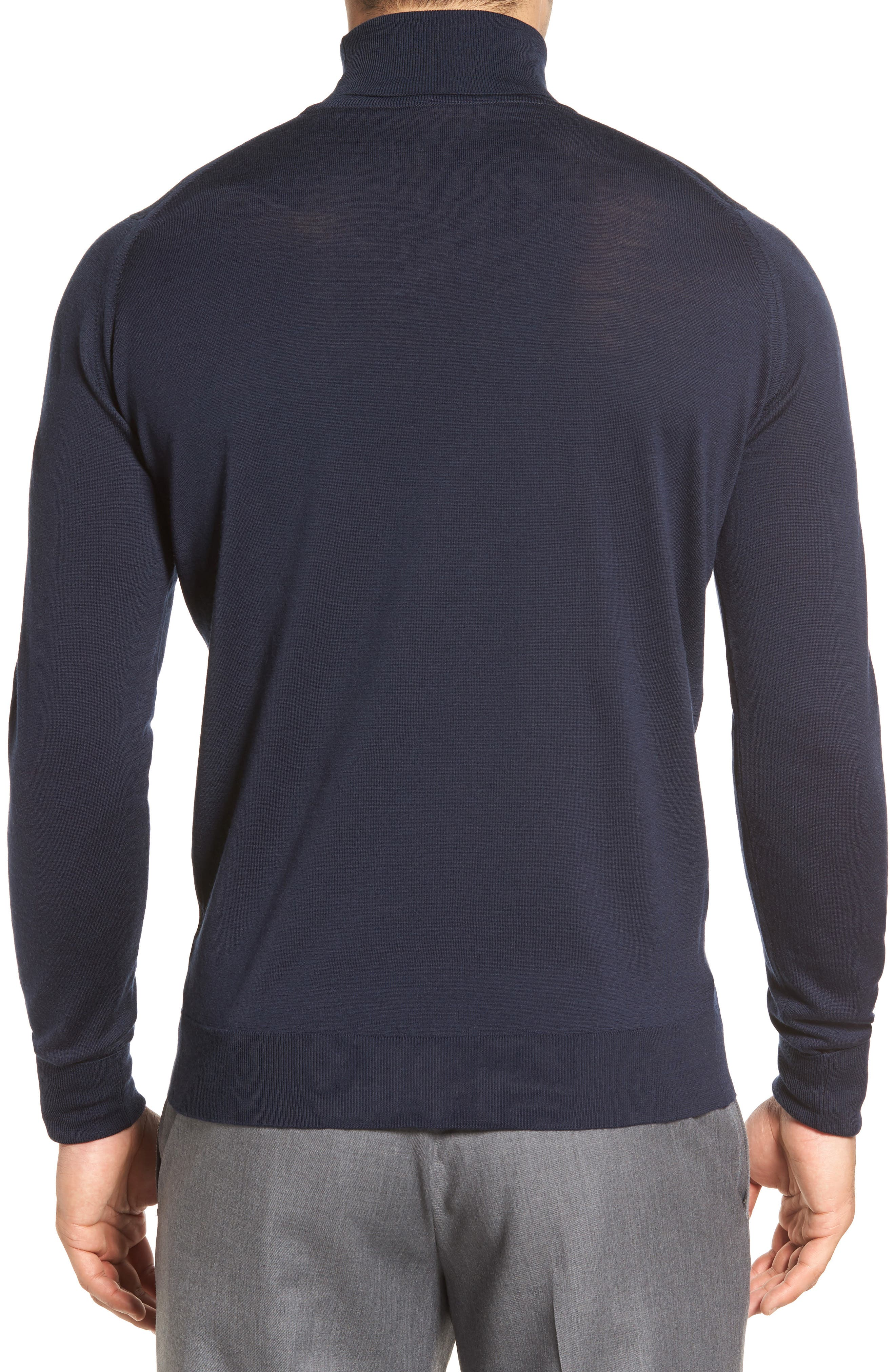 'Richards' Easy Fit Turtleneck Wool Sweater,                             Alternate thumbnail 15, color,