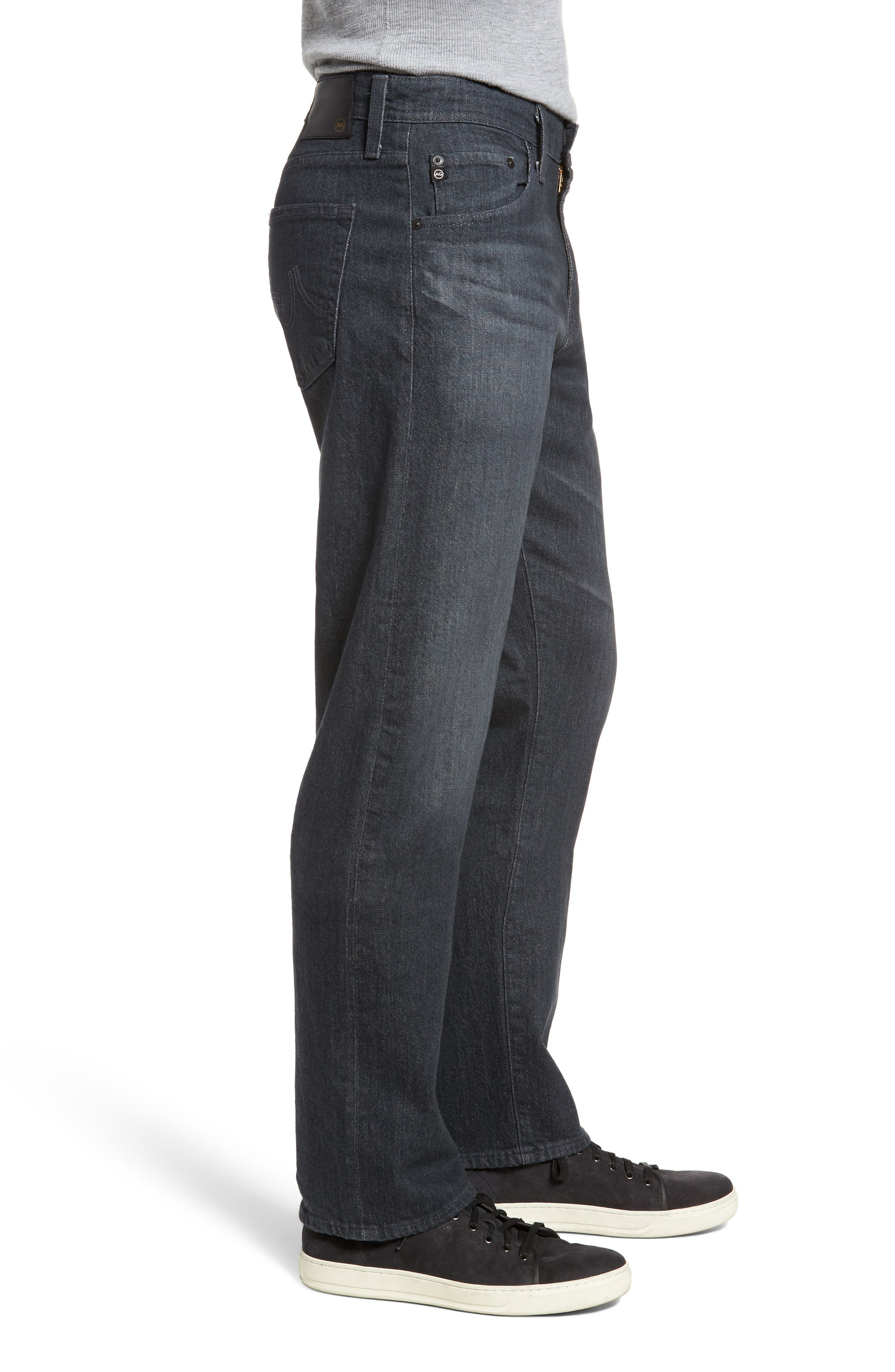 Ives Straight Fit Jeans,                             Alternate thumbnail 3, color,                             015