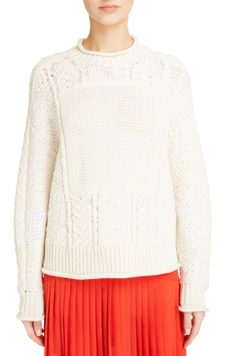 8a973e6ad65a Givenchy Cable Knit Wool   Cashmere Sweater