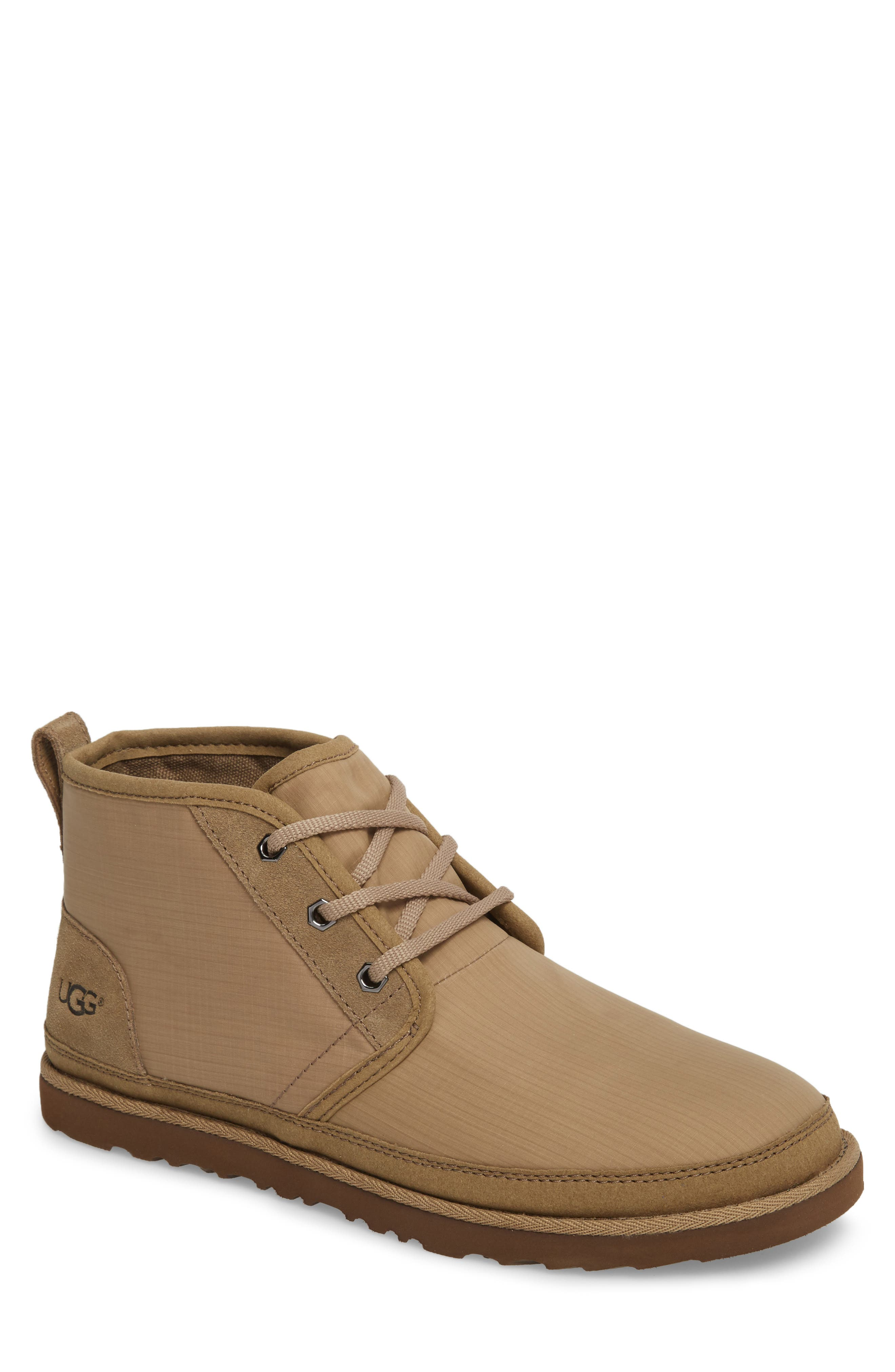 Neumel Ripstop Chukka Boot,                         Main,                         color, ANTILOPE LEATHER