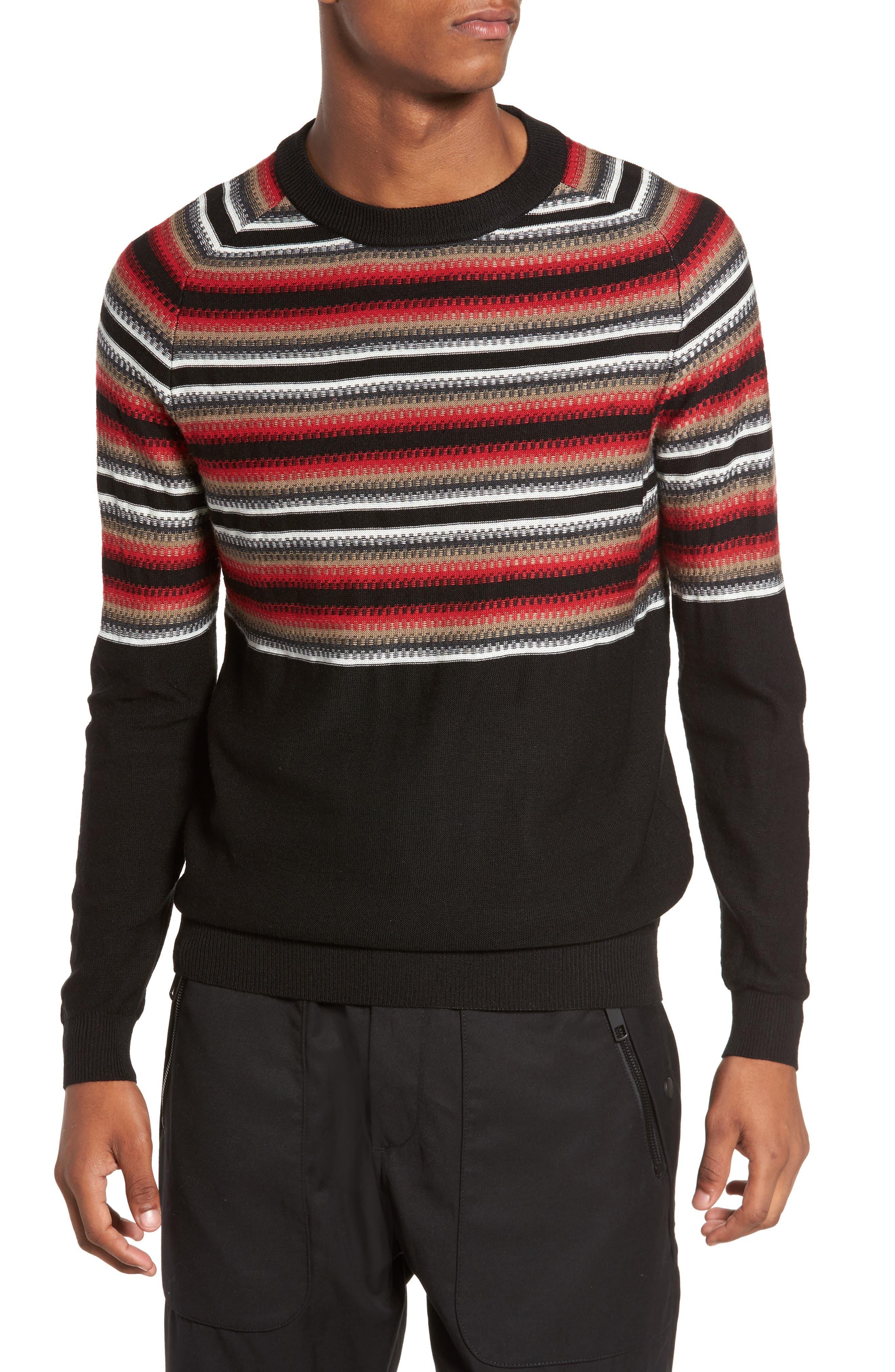 Stripe Sweater,                         Main,                         color, 001