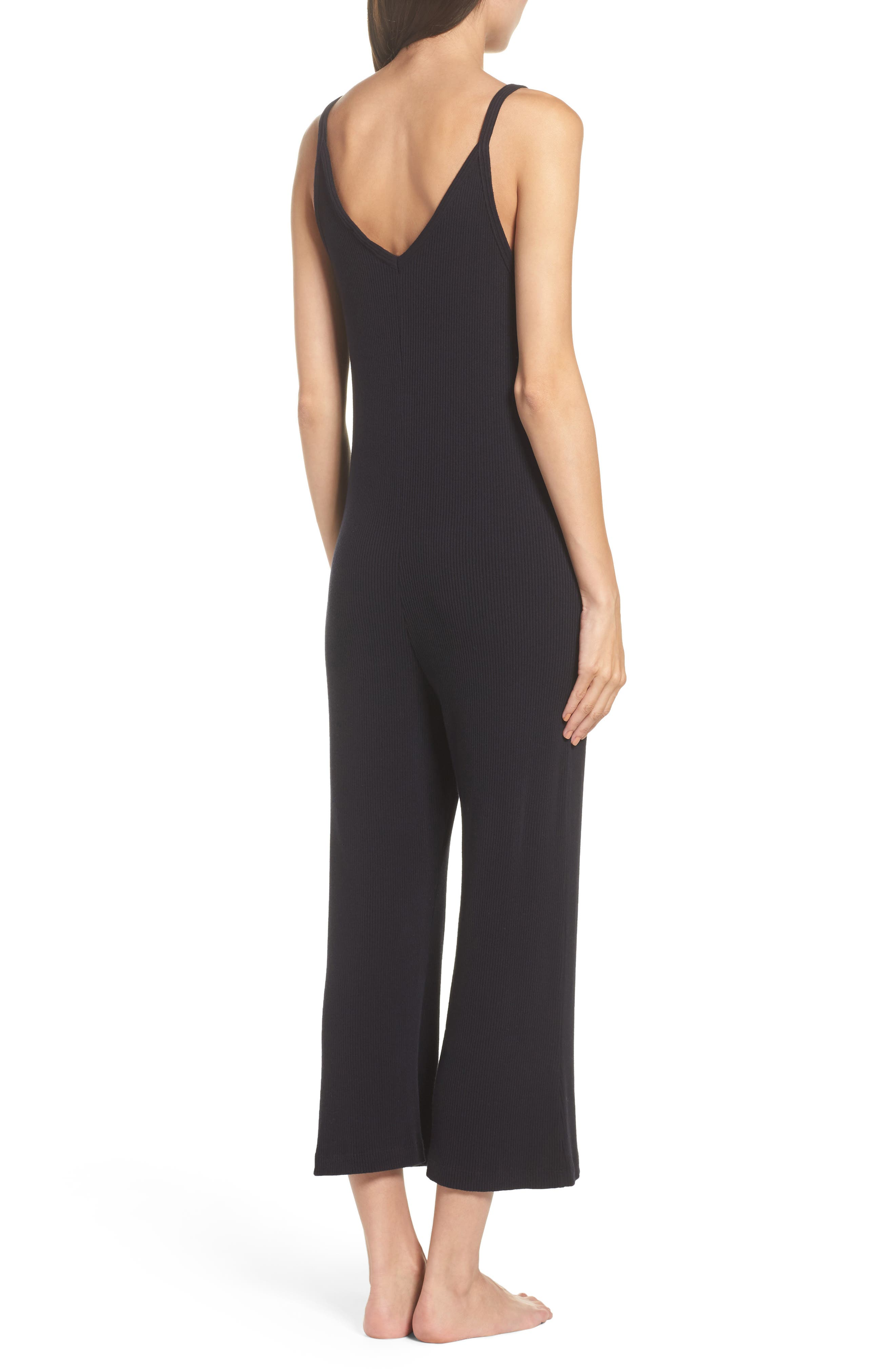 Naomi Knit Lounge Jumpsuit,                             Alternate thumbnail 2, color,                             009