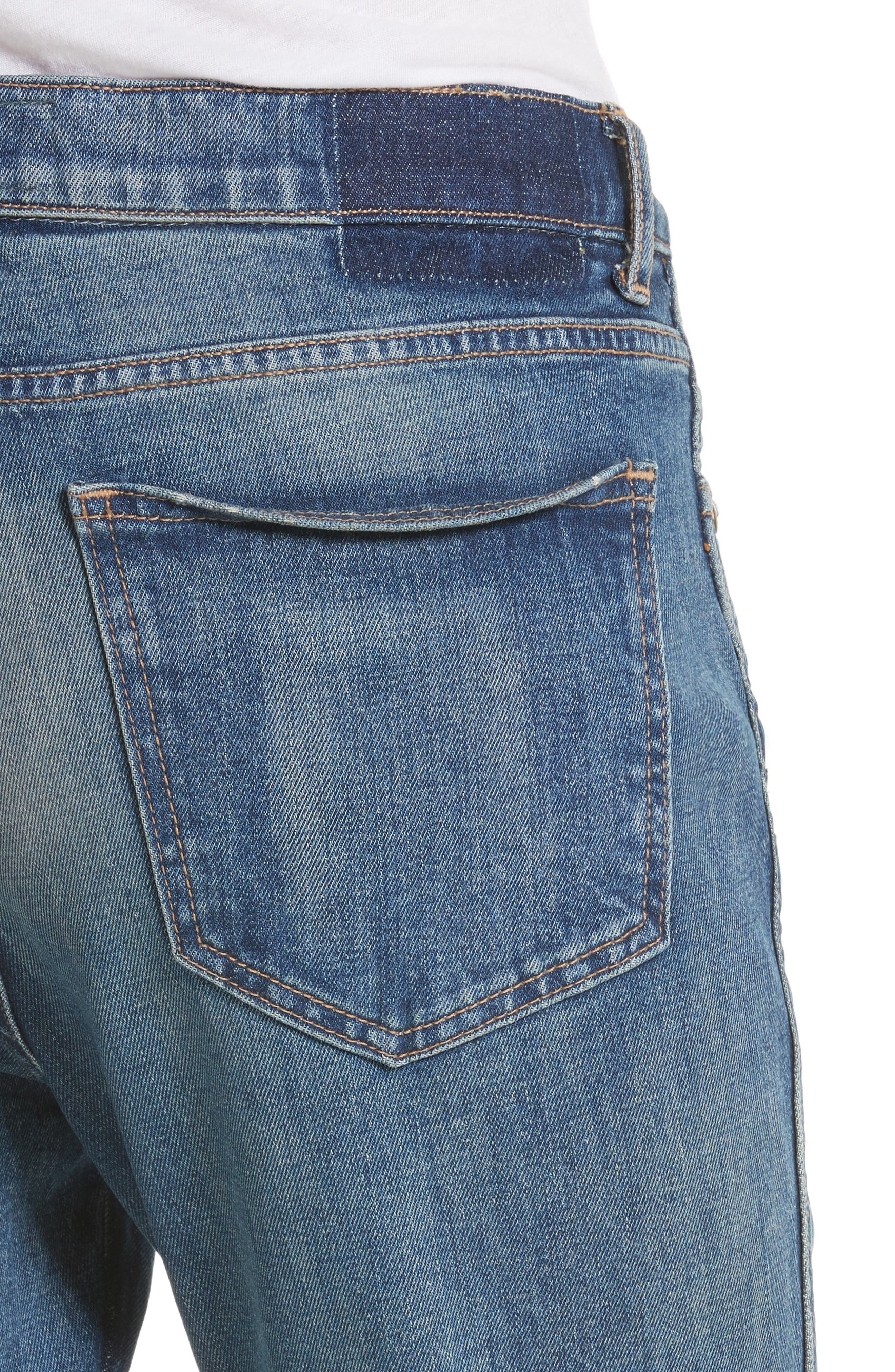 The Fellow Rhinestone Jeans,                             Alternate thumbnail 4, color,