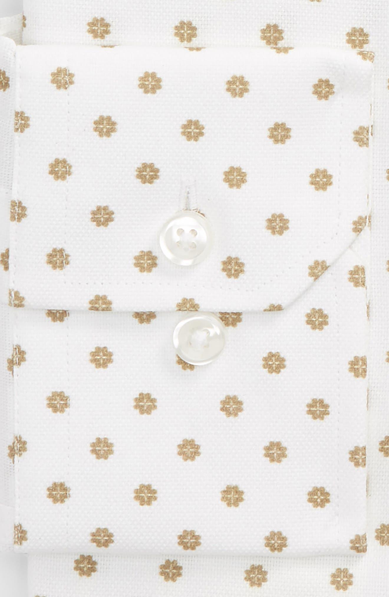 by Ilaria Urbinati Edmond Slim Fit Medallion Dress Shirt,                             Alternate thumbnail 2, color,                             200