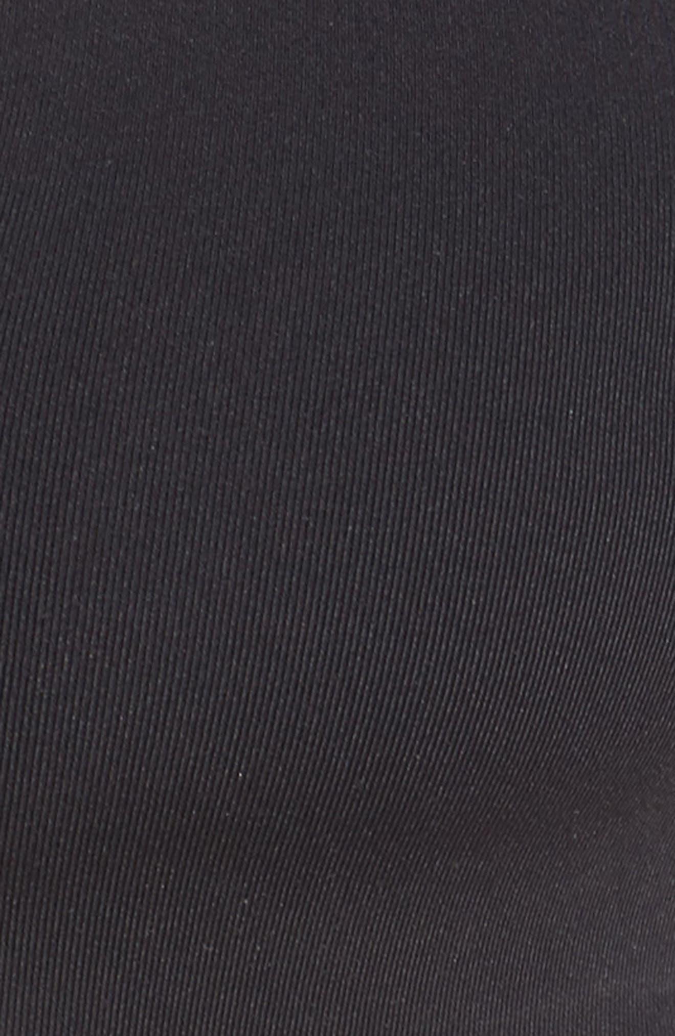 Active Bikini Top,                             Alternate thumbnail 5, color,                             BLACK