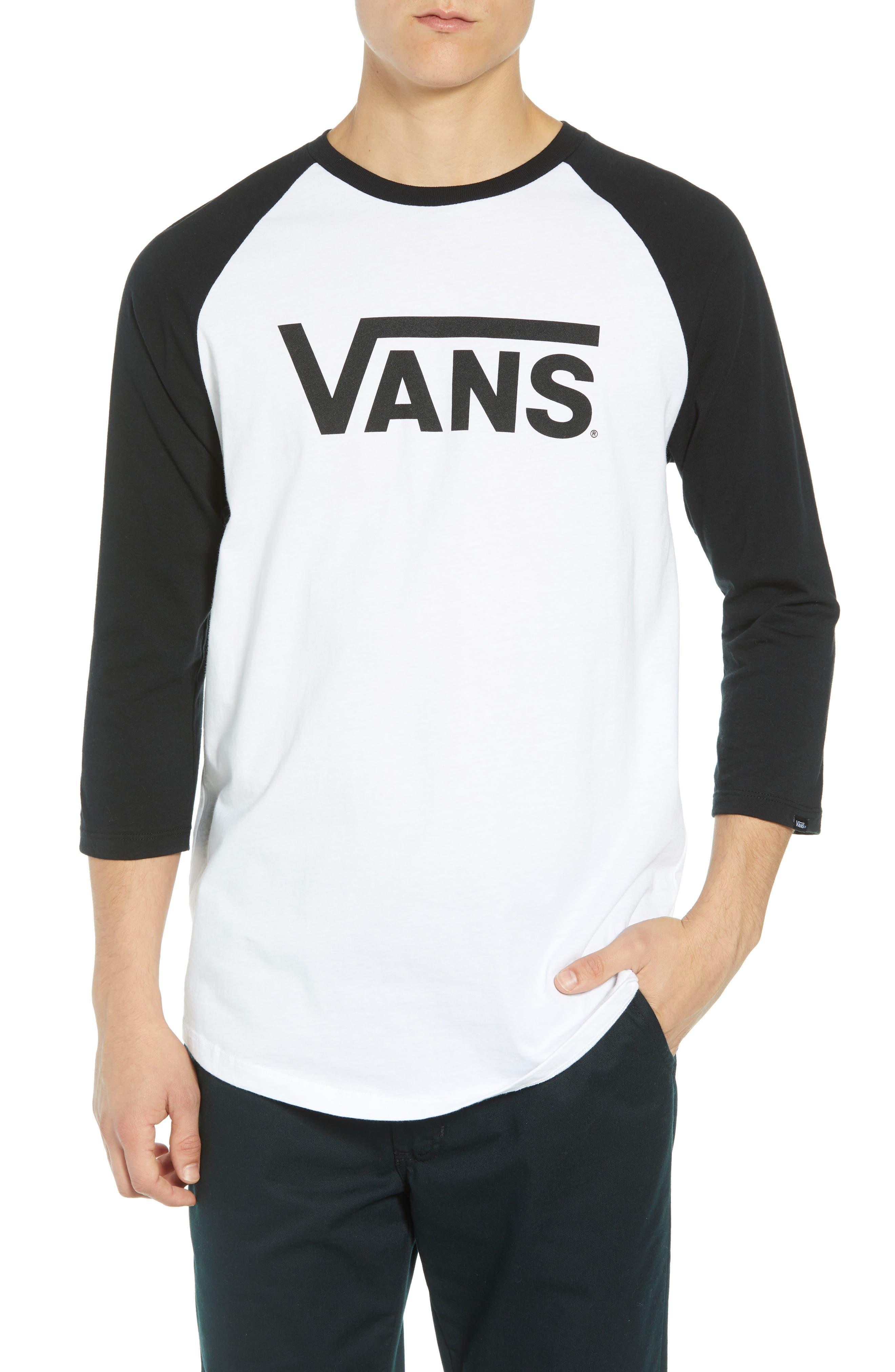 Vans Classic Raglan T-Shirt, White
