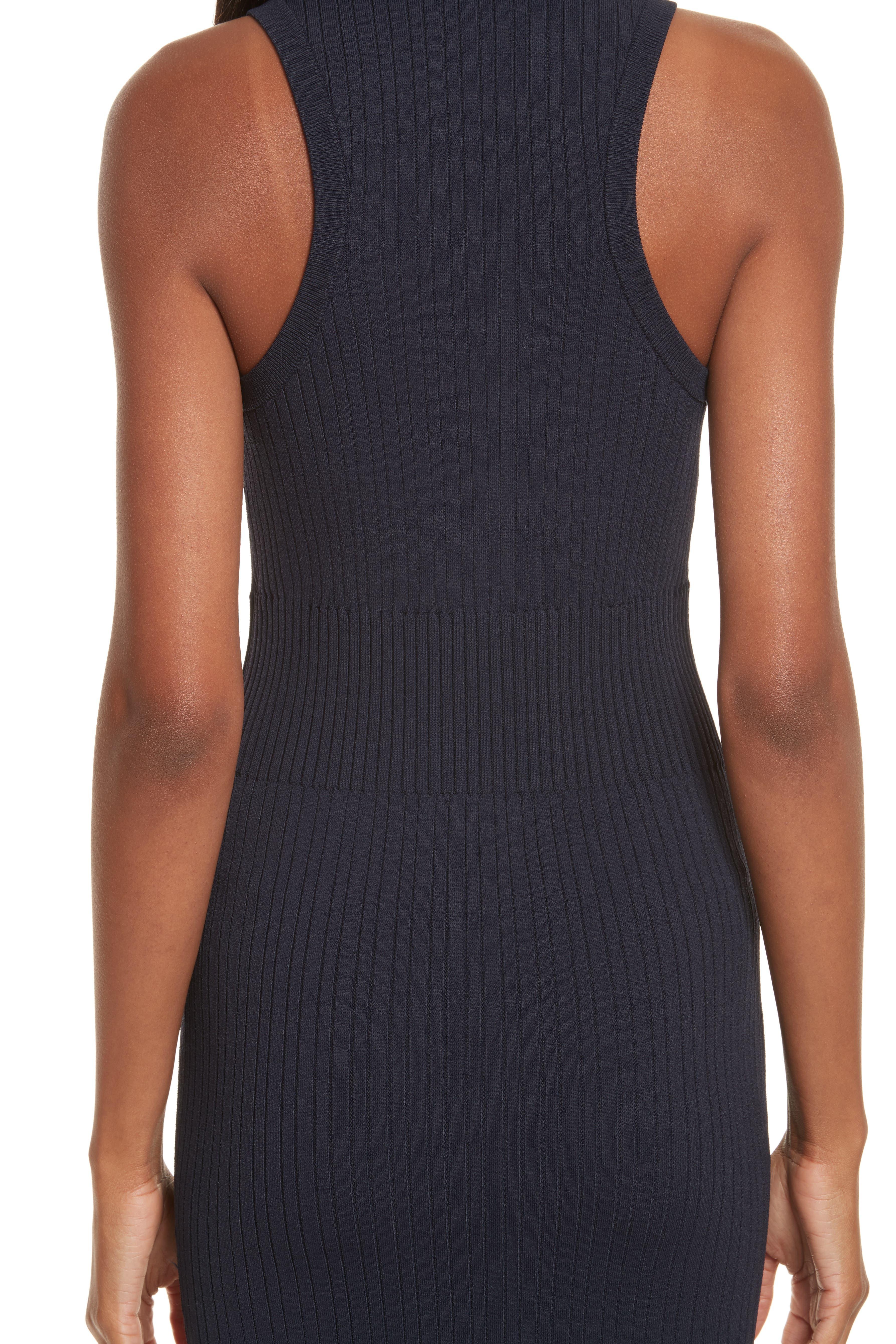 Rib Knit Midi Dress,                             Alternate thumbnail 10, color,