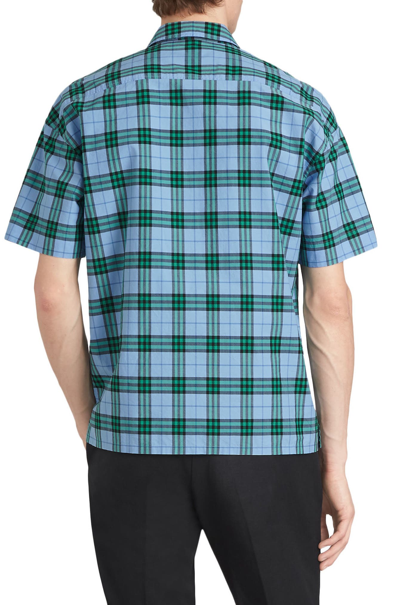 Harely Check Camp Shirt,                             Alternate thumbnail 2, color,                             400