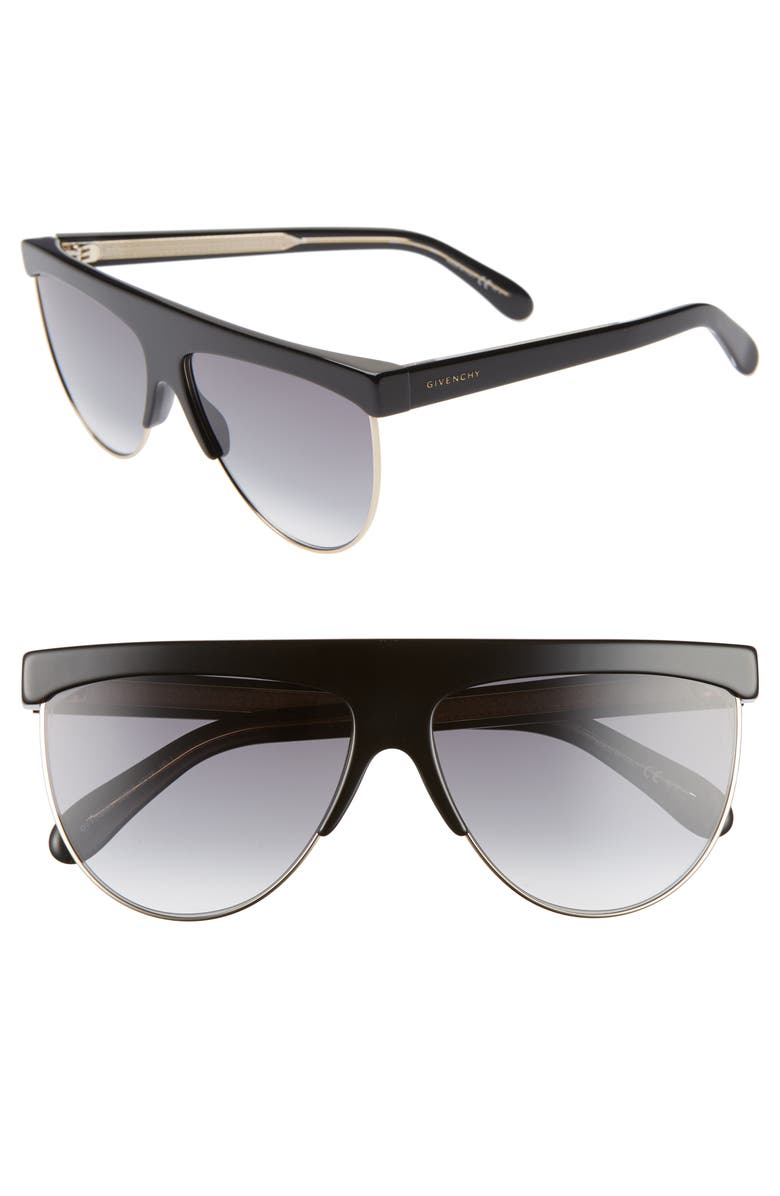 df97125a51 Givenchy 62mm Oversize Flat Top Sunglasses