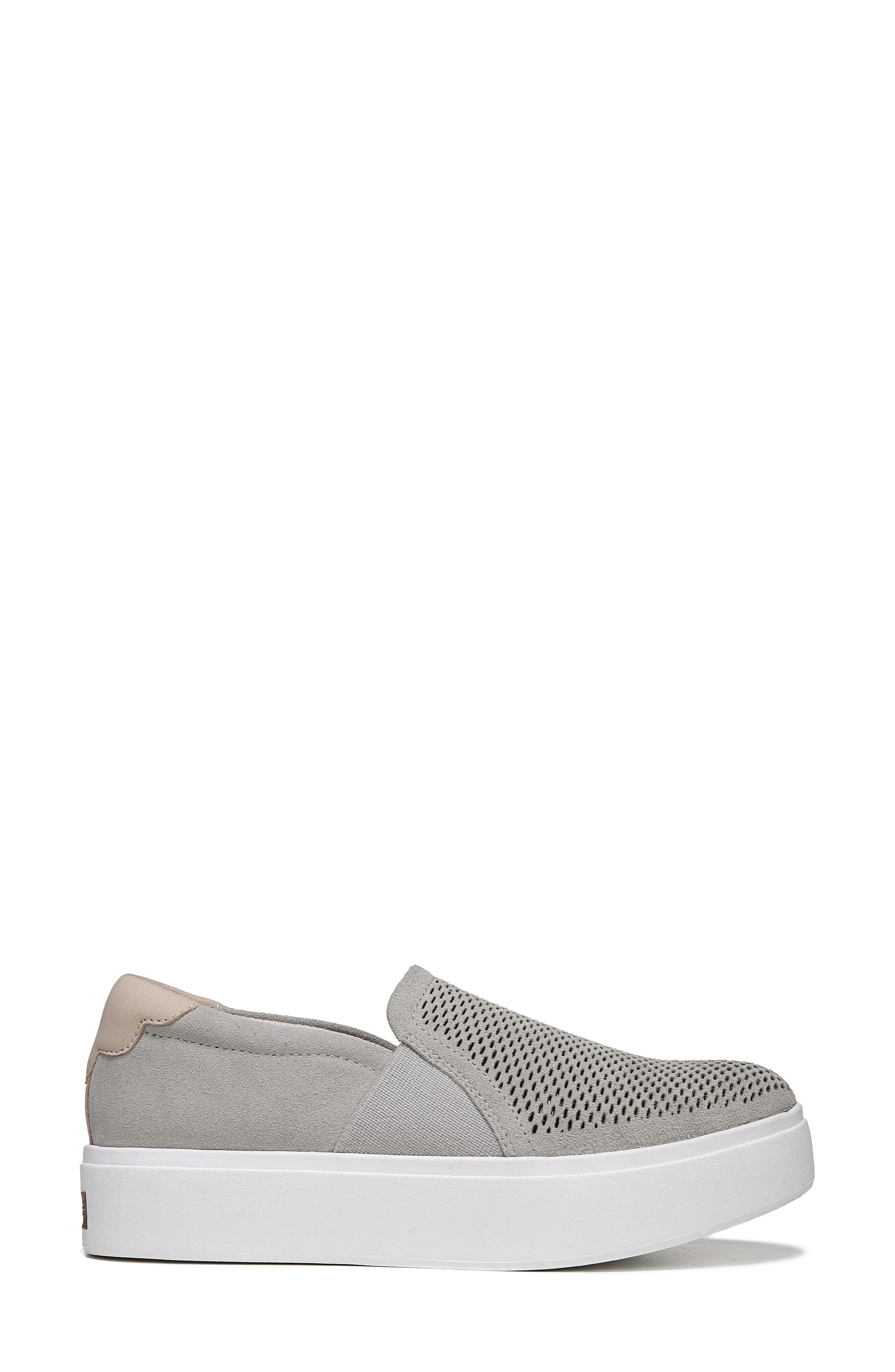 Abbot Lux Sneaker,                             Alternate thumbnail 3, color,                             GREY LEATHER
