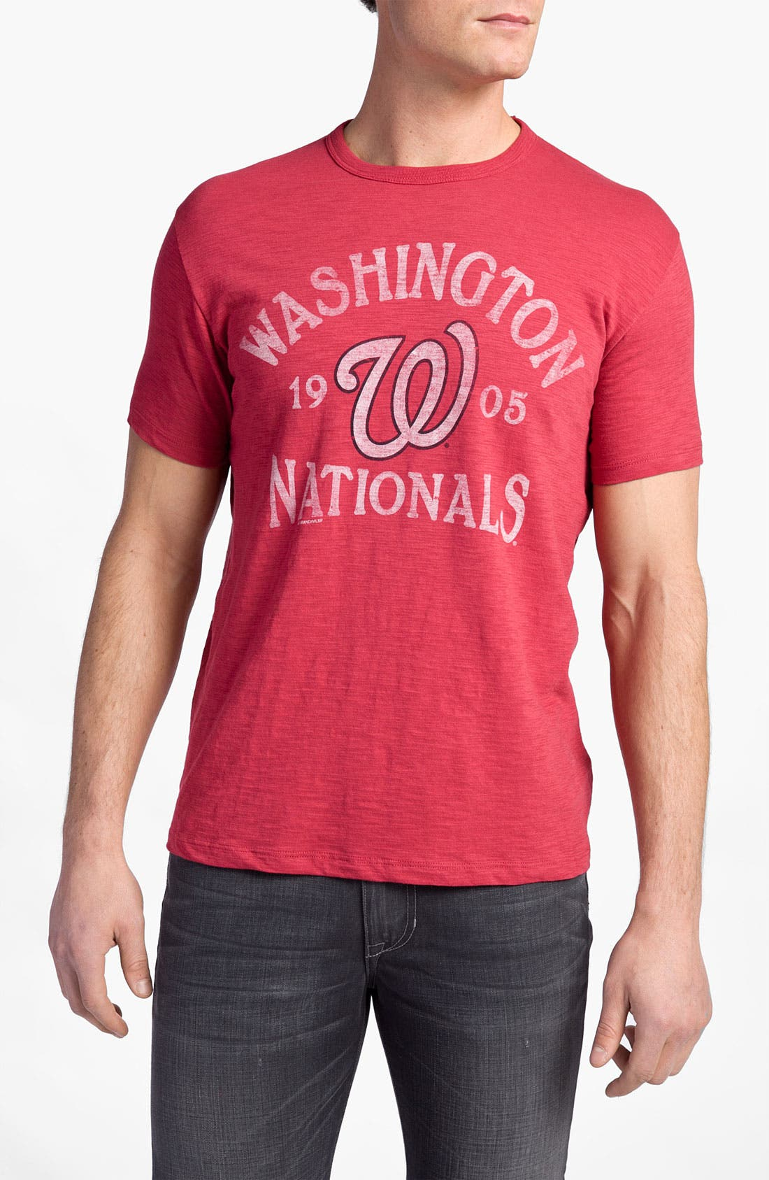 'Chicago Cubs' Regular Fit Crewneck T-Shirt,                             Main thumbnail 30, color,