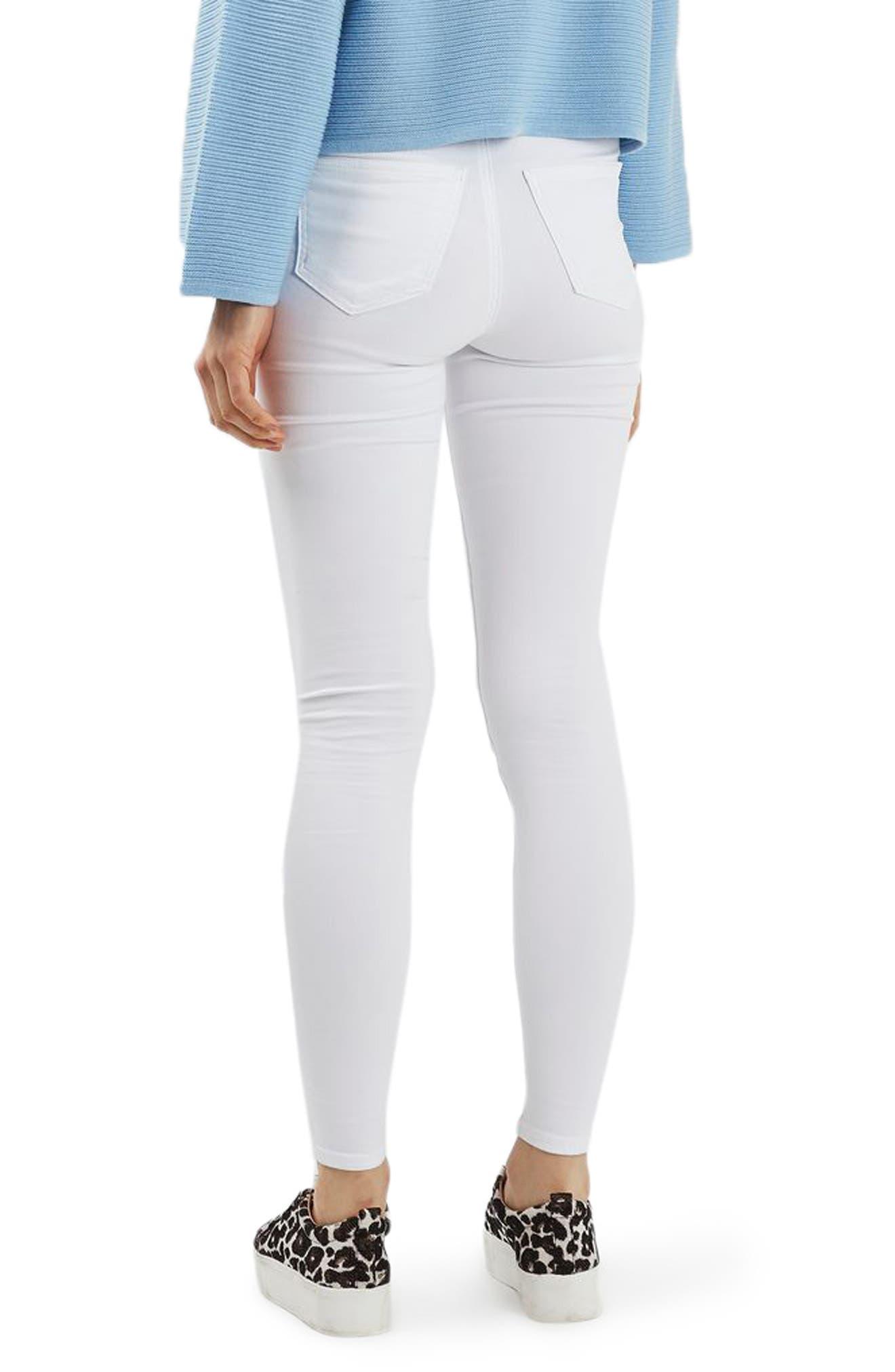 Joni Skinny Jeans,                             Alternate thumbnail 2, color,                             100