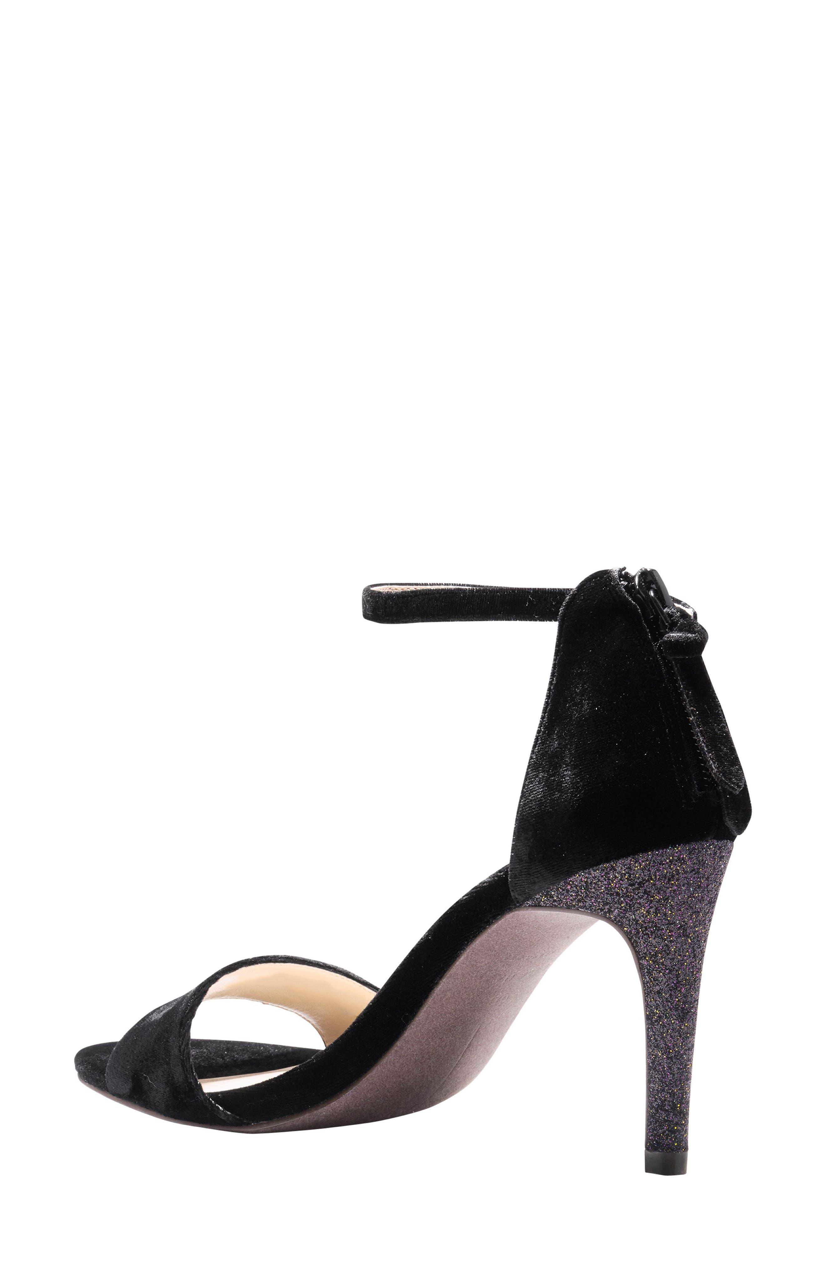 Clara Grand Ankle Strap Sandal,                             Alternate thumbnail 2, color,                             001