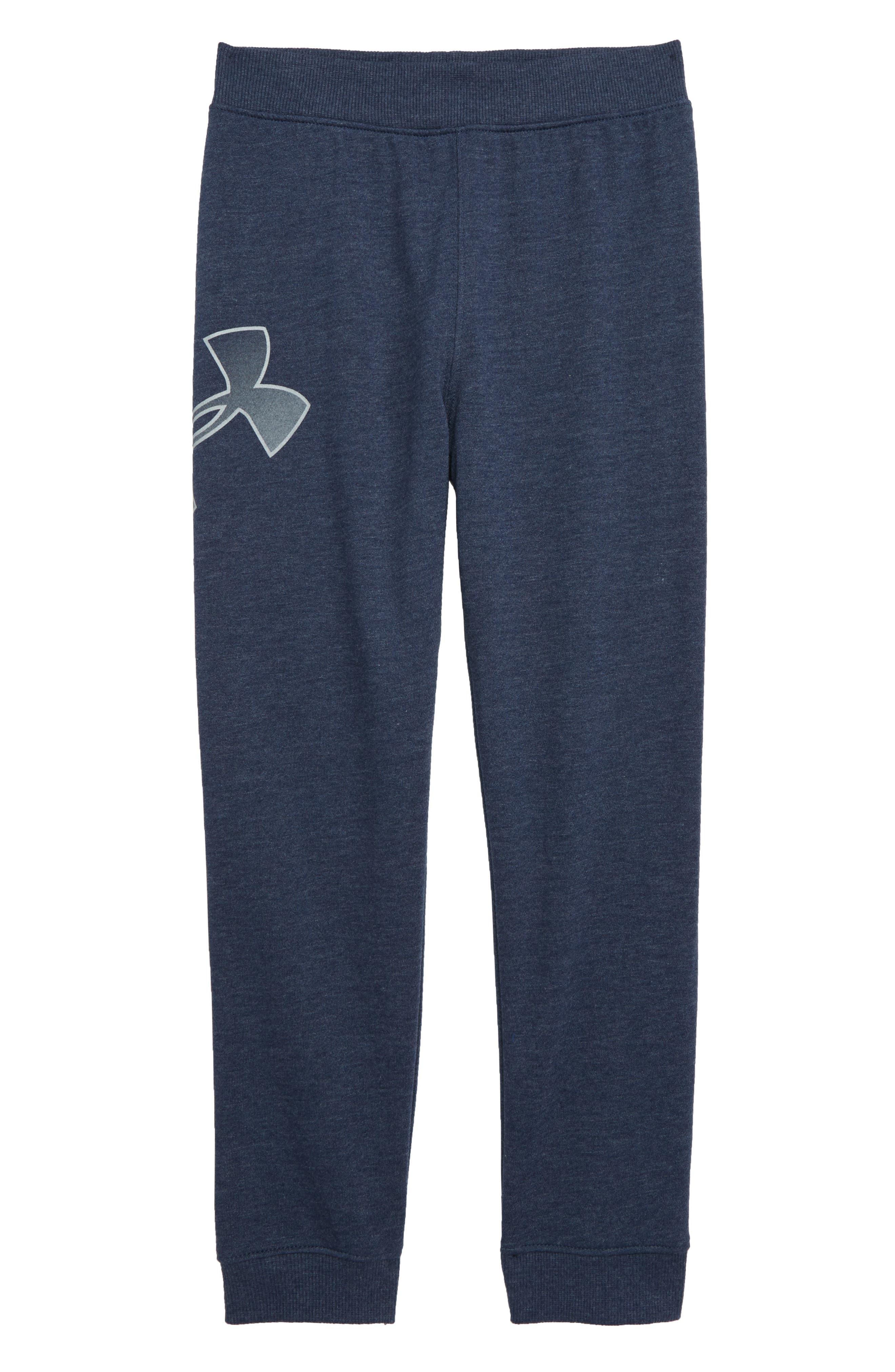 Fade Out Logo Jogger Pants, Main, color, ACADEMY