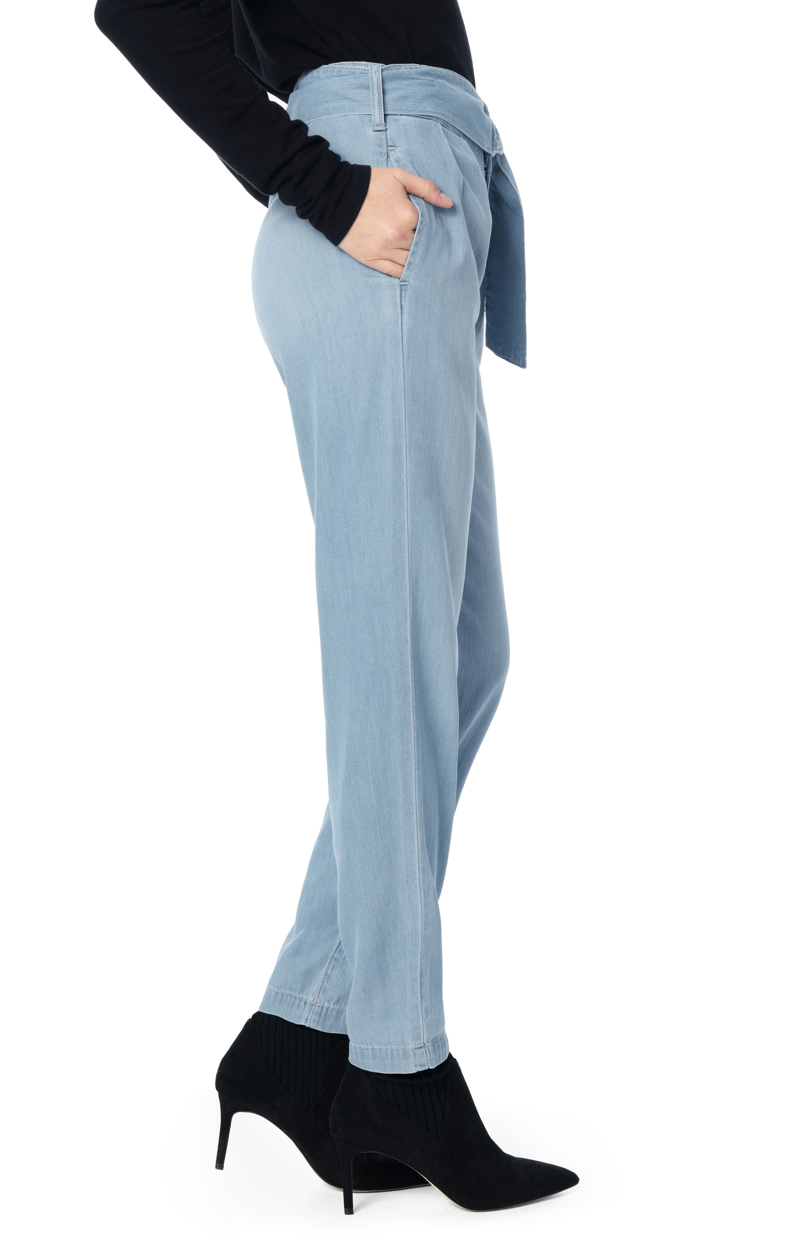 Paperbag Trouser Pants,                             Alternate thumbnail 2, color,                             MARIANNE