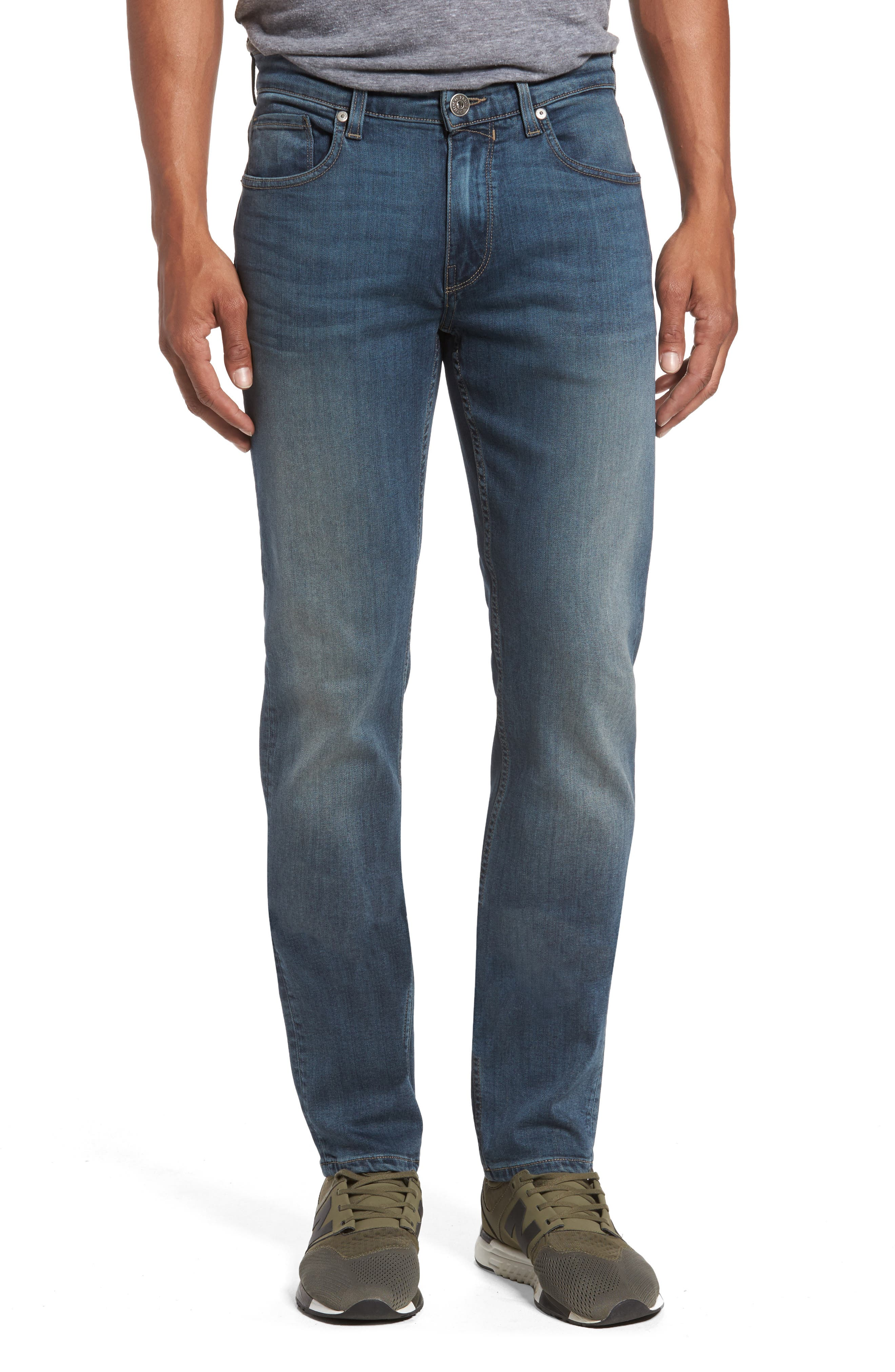 Transcend - Lennox Slim Fit Jeans,                             Main thumbnail 1, color,                             400