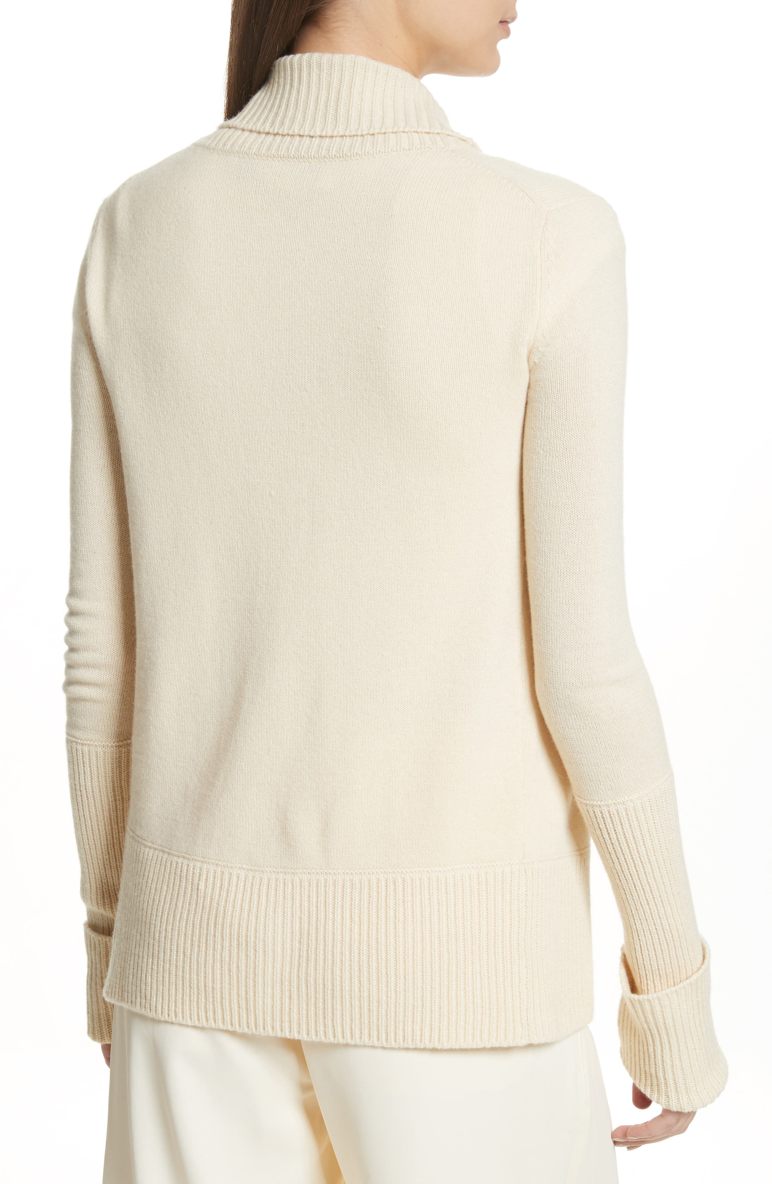 Wide Collar Cashmere Cardigan,                             Alternate thumbnail 2, color,                             252