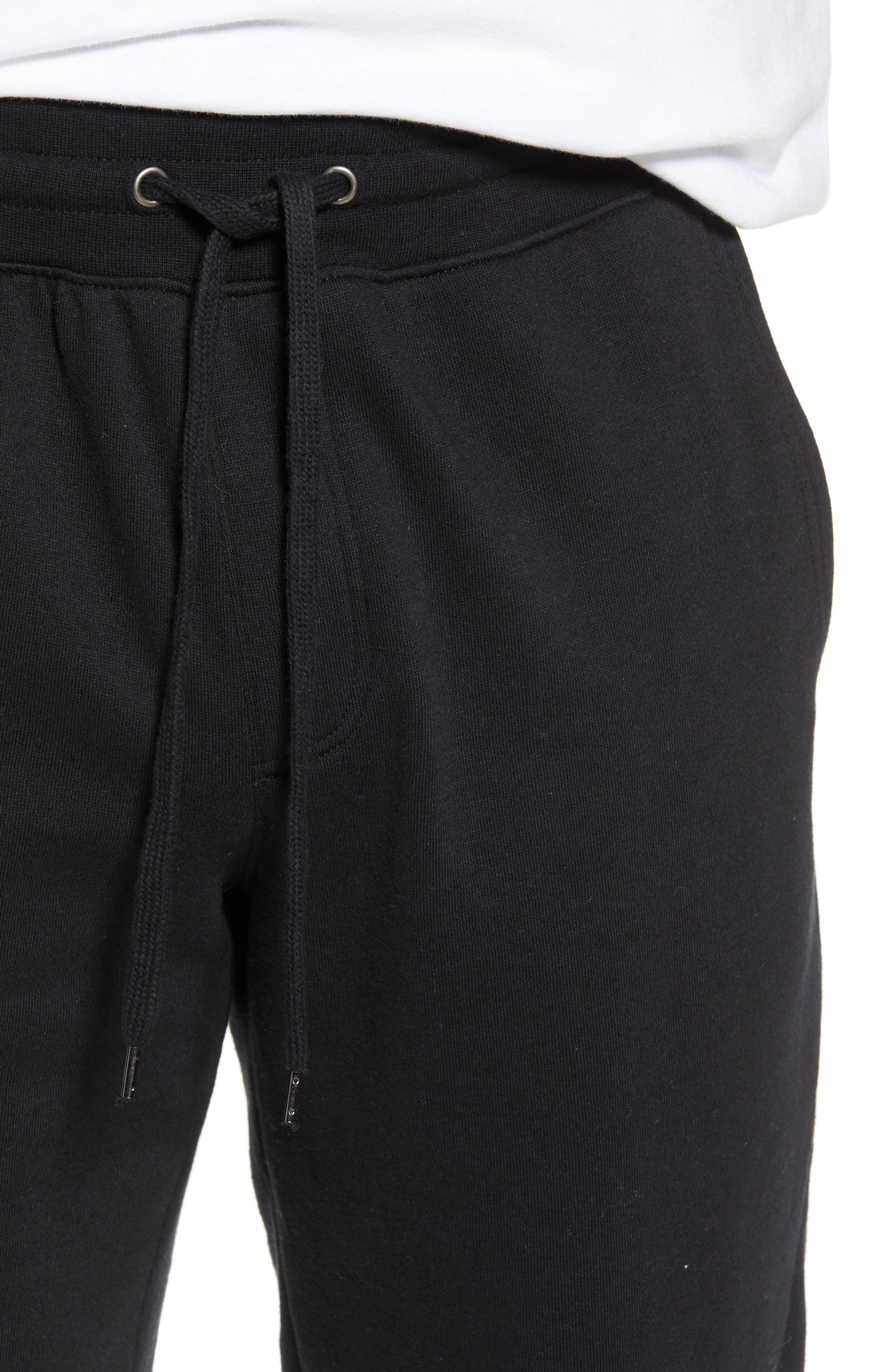Fleece Jogger Pants,                             Alternate thumbnail 4, color,                             001