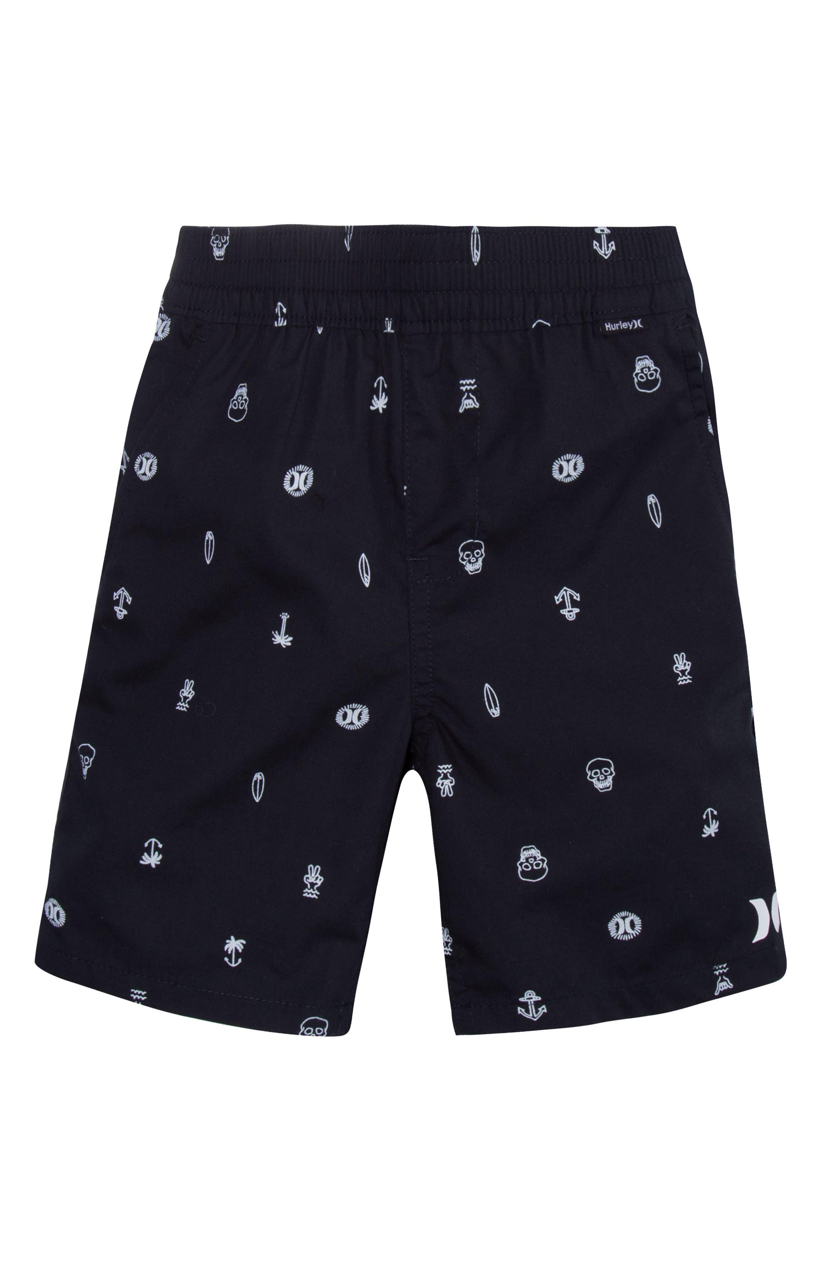 Poplin Pull-On Shorts,                         Main,                         color,