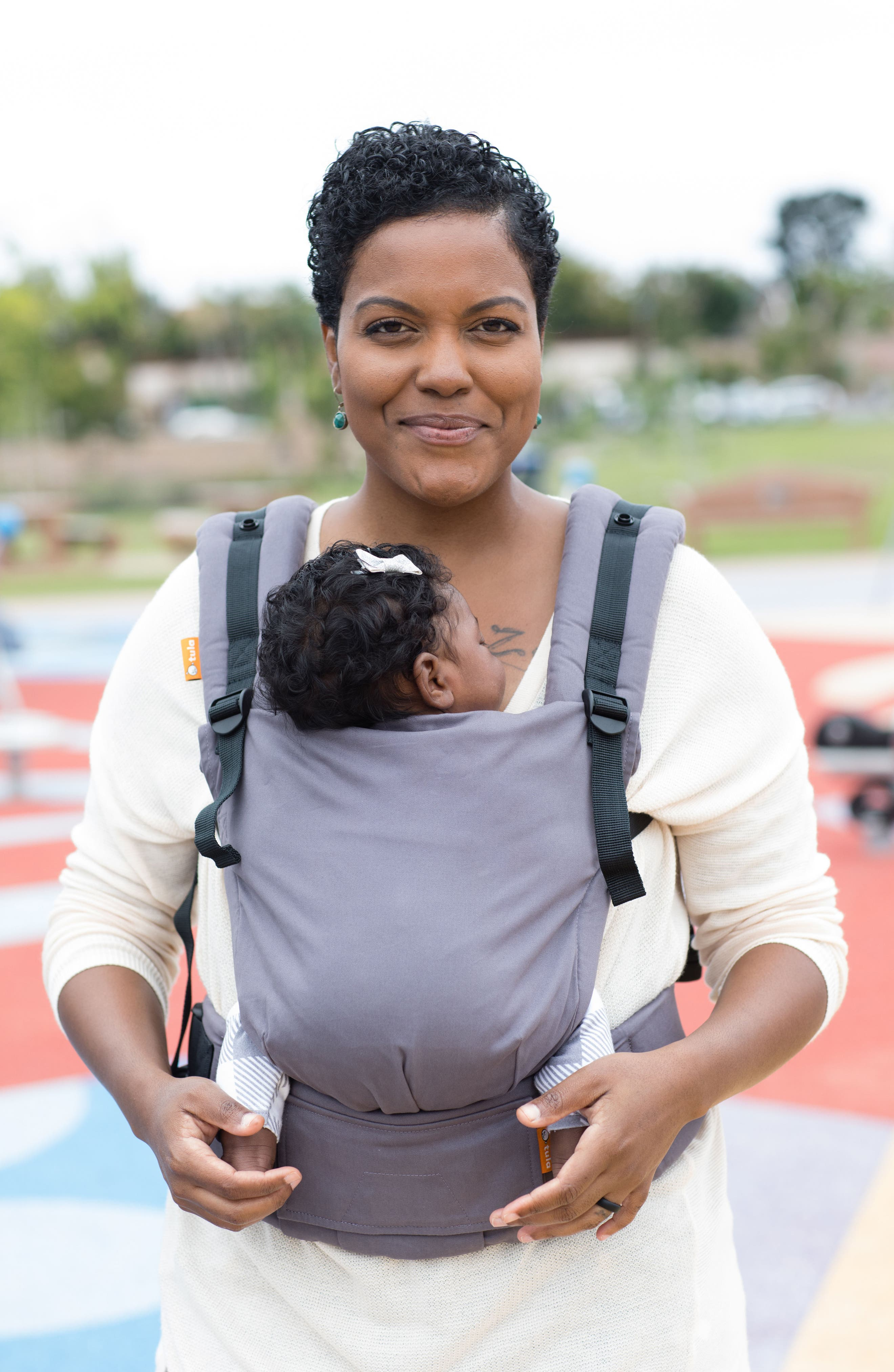 Stormy Free-to-Grow Baby Carrier,                             Alternate thumbnail 6, color,                             STORMY