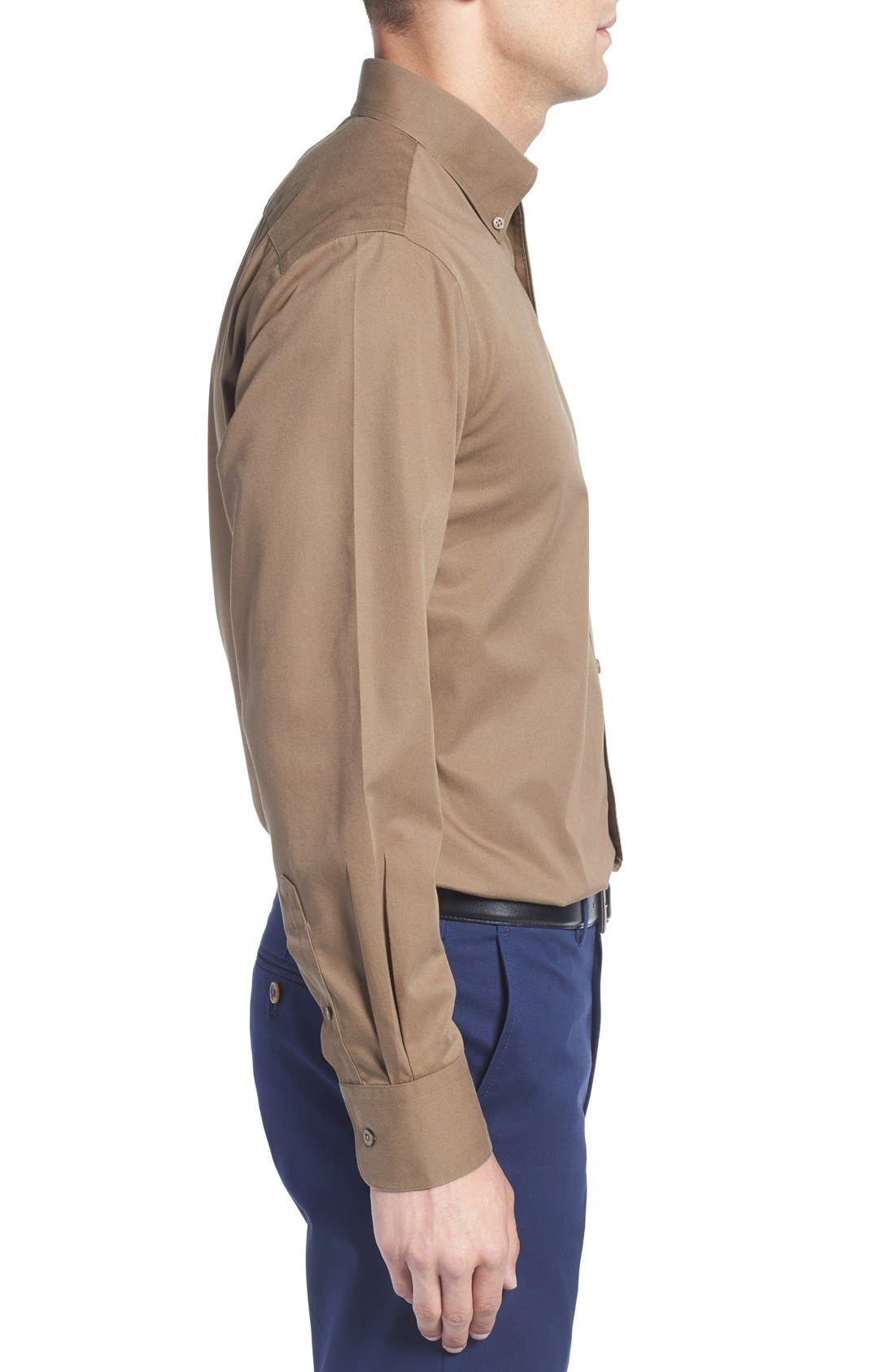 Smartcare<sup>™</sup> Traditional Fit Twill Boat Shirt,                             Alternate thumbnail 85, color,