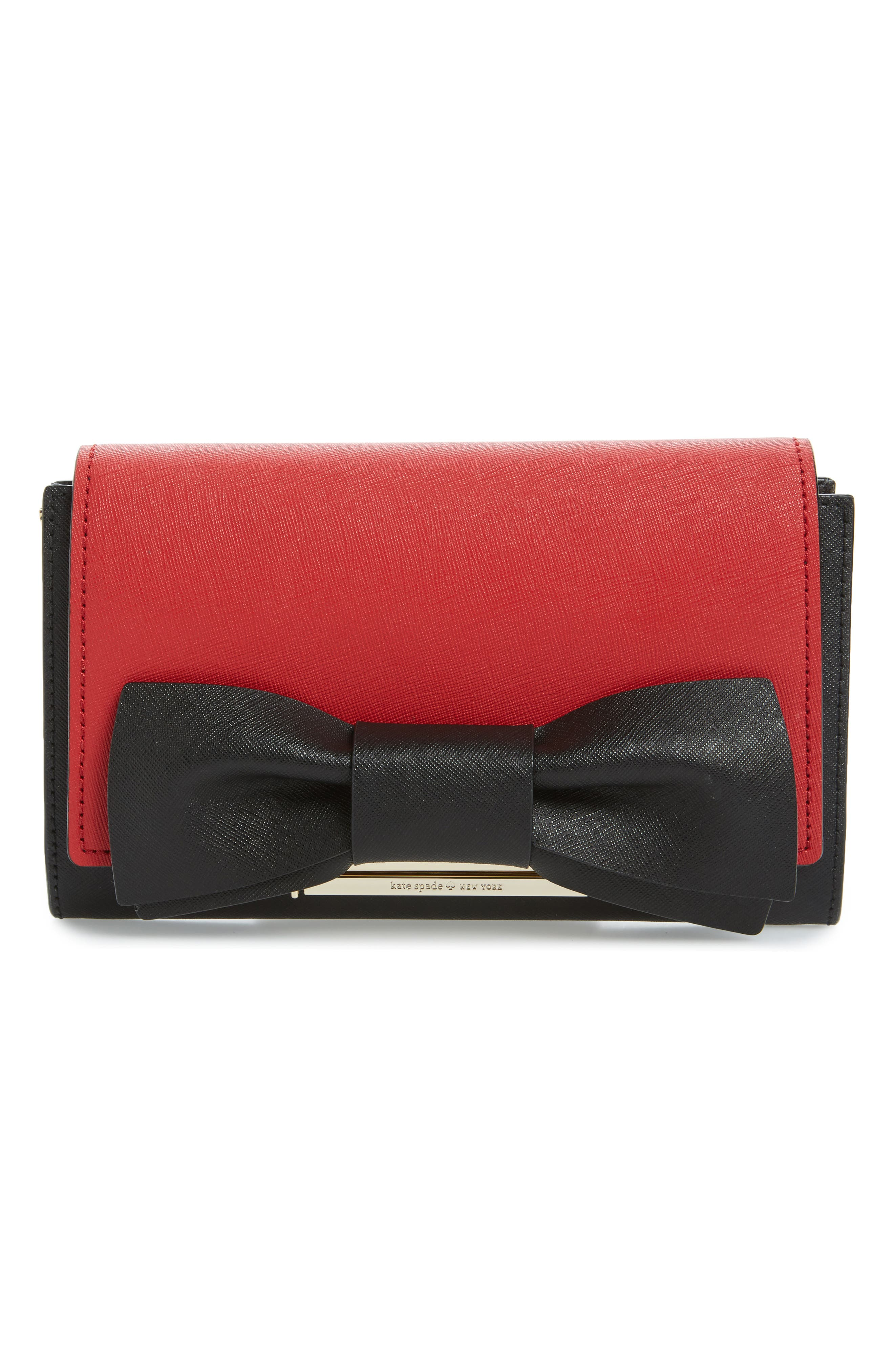 make it mine leather bow snap-on accent flap,                             Alternate thumbnail 2, color,                             640