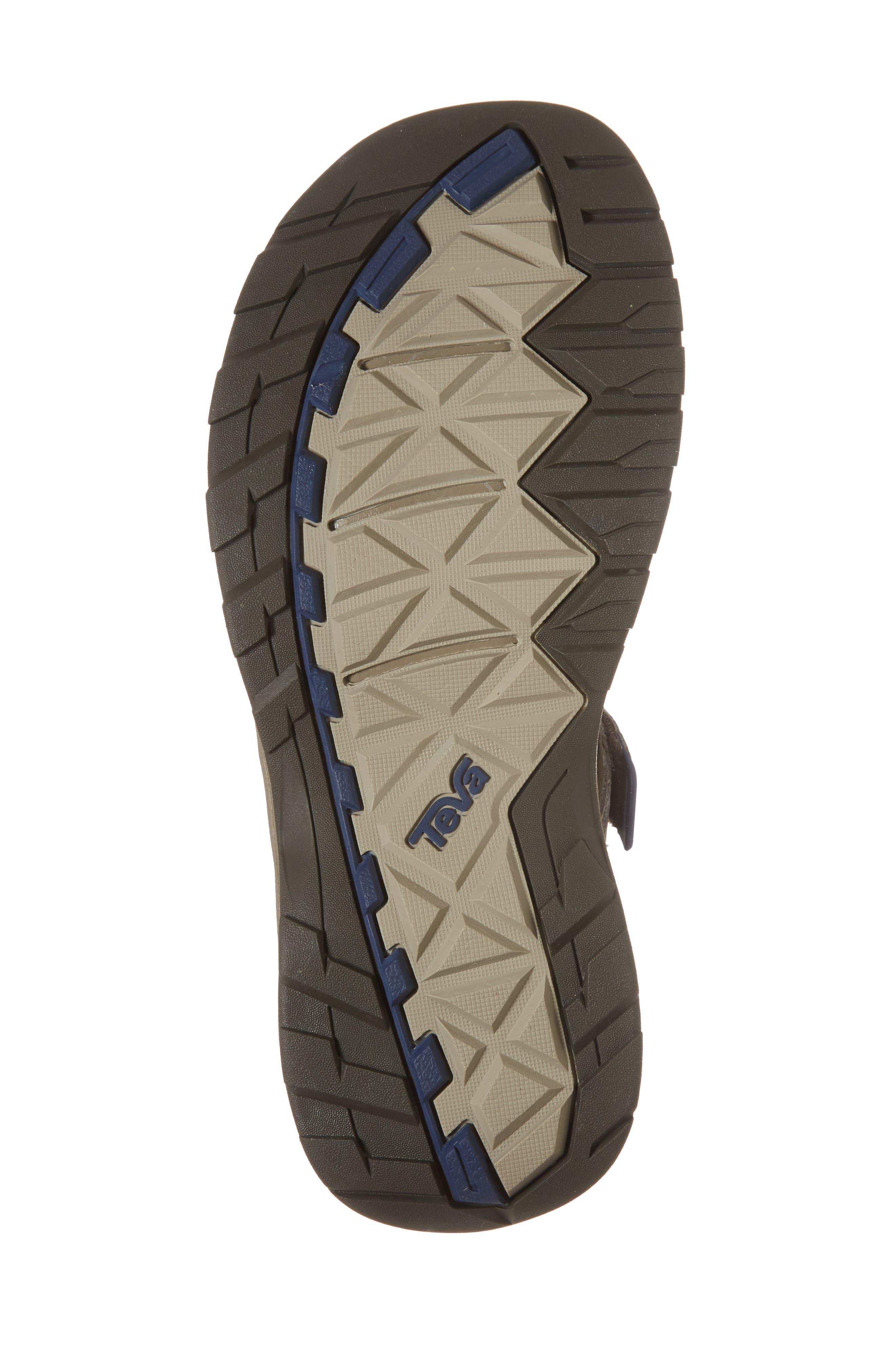 Omnium 2 Hiking Sandal,                             Alternate thumbnail 6, color,                             BROWN NYLON