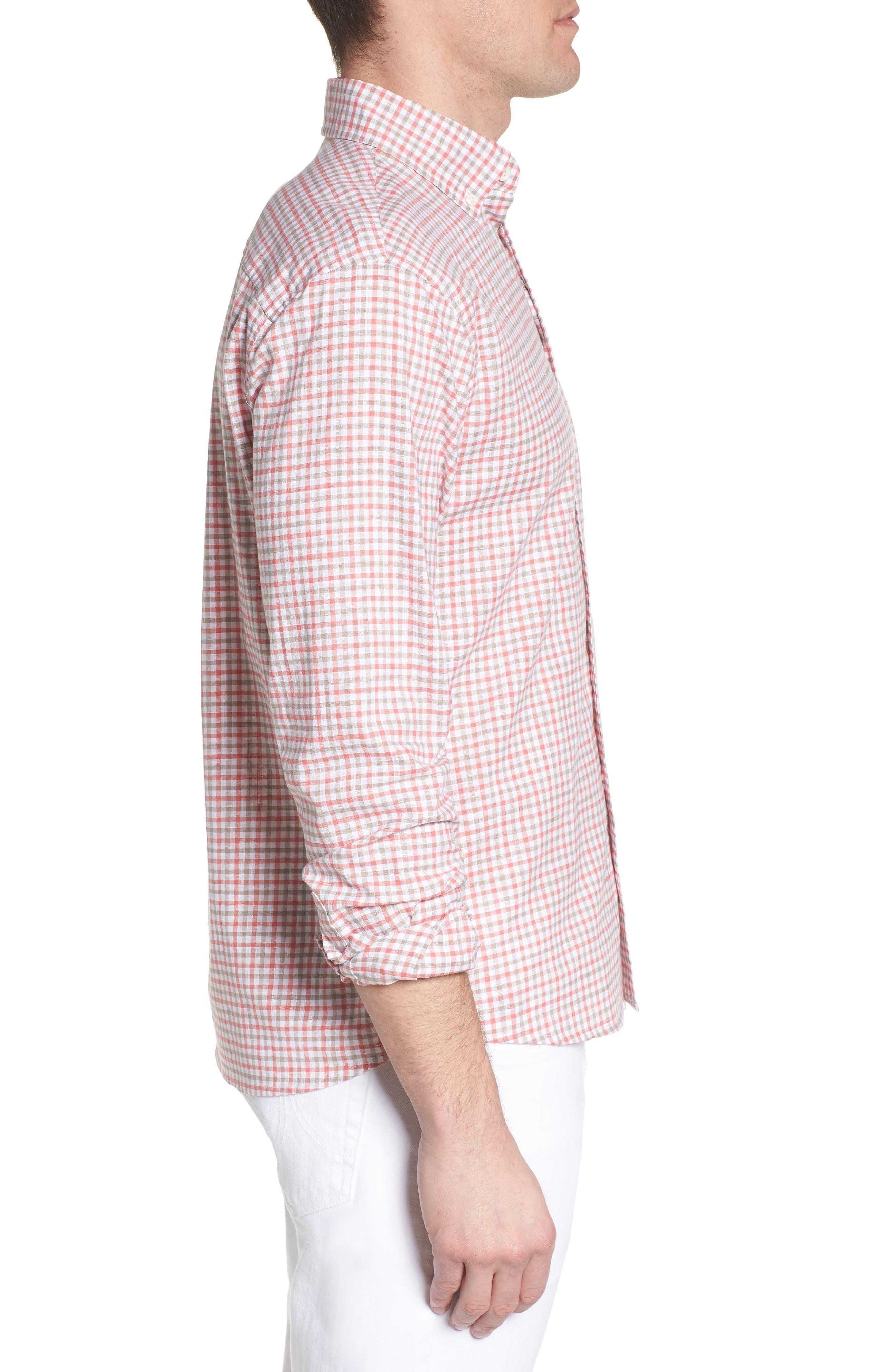 JOHNNIE-O,                             Driscoll Regular Fit Sport Shirt,                             Alternate thumbnail 3, color,                             630