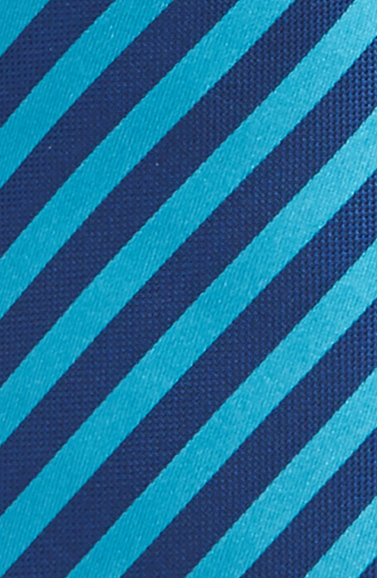 Stripe Silk Zip Tie,                             Alternate thumbnail 16, color,