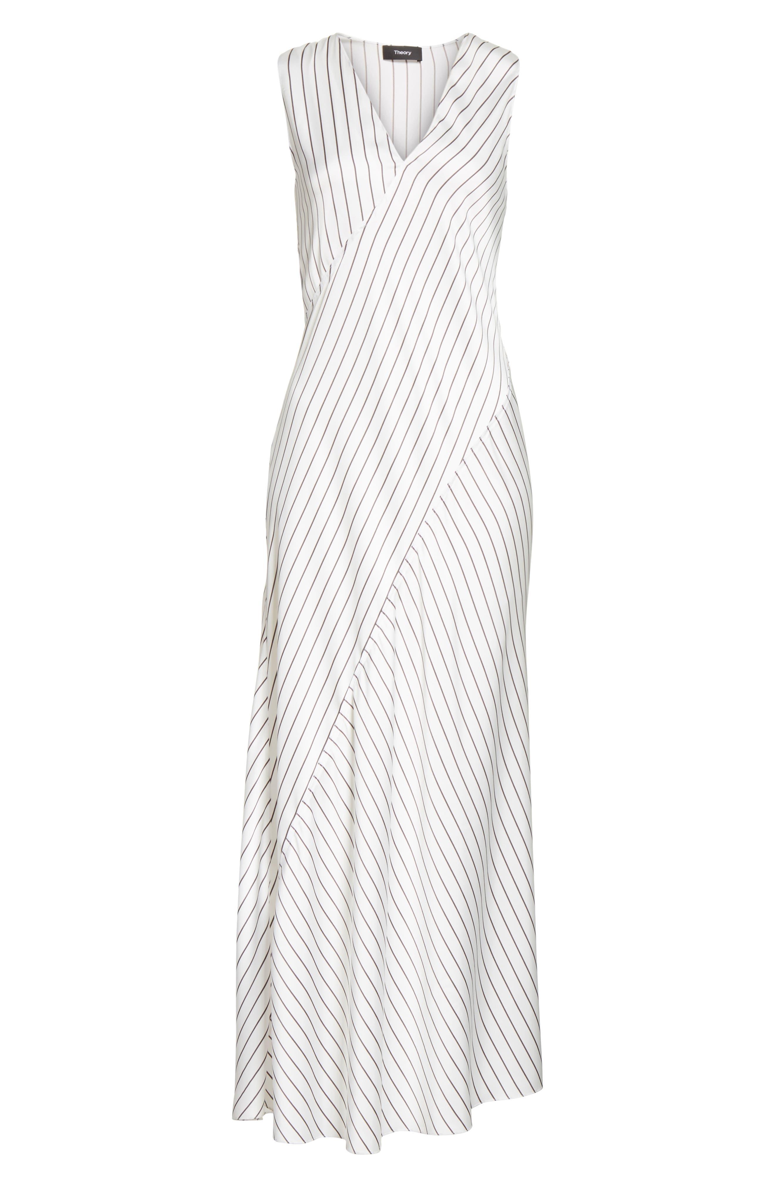 Stripe Maxi Dress,                             Alternate thumbnail 6, color,                             908