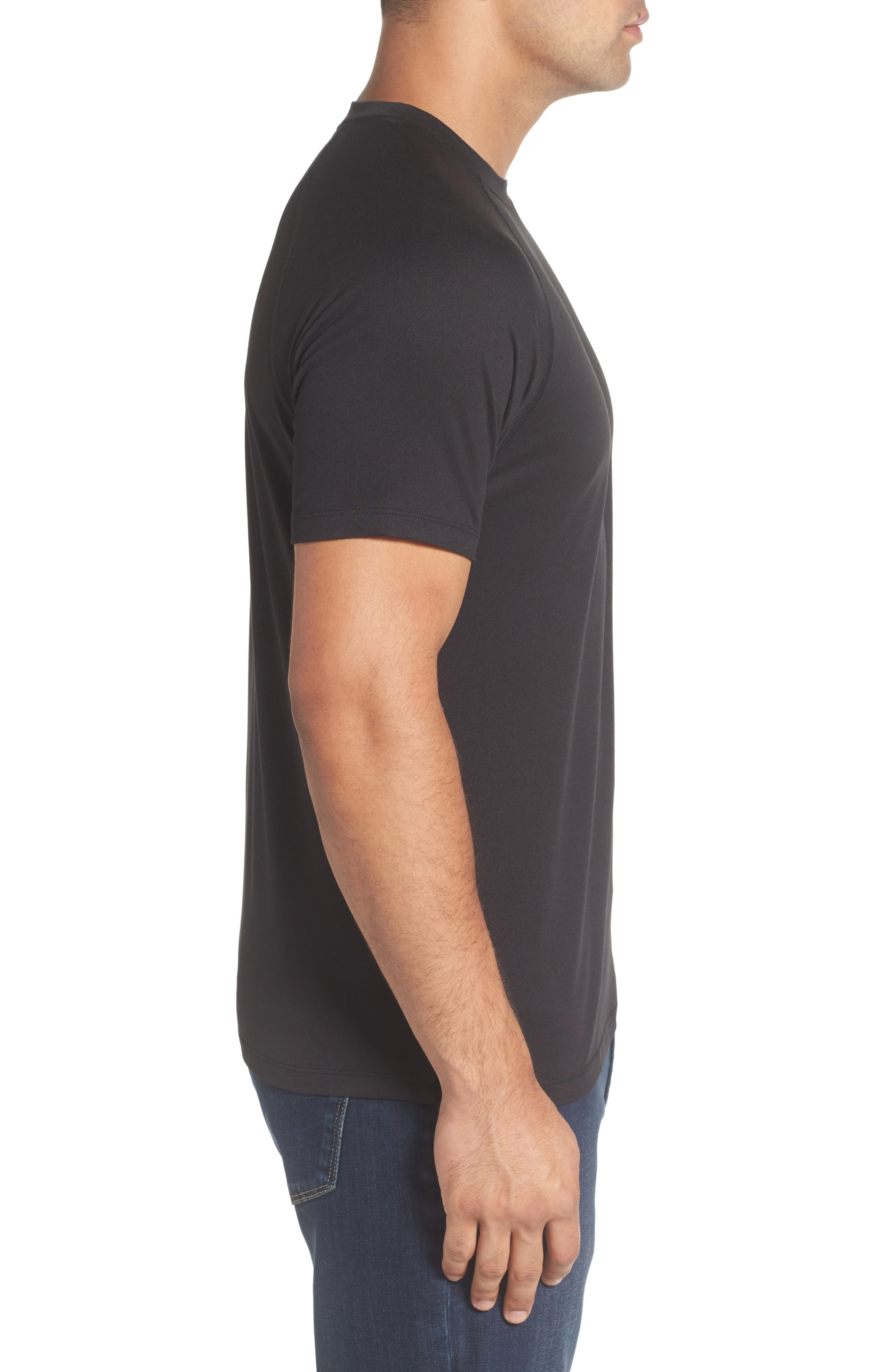 Rio Technical T-Shirt,                             Alternate thumbnail 3, color,                             001