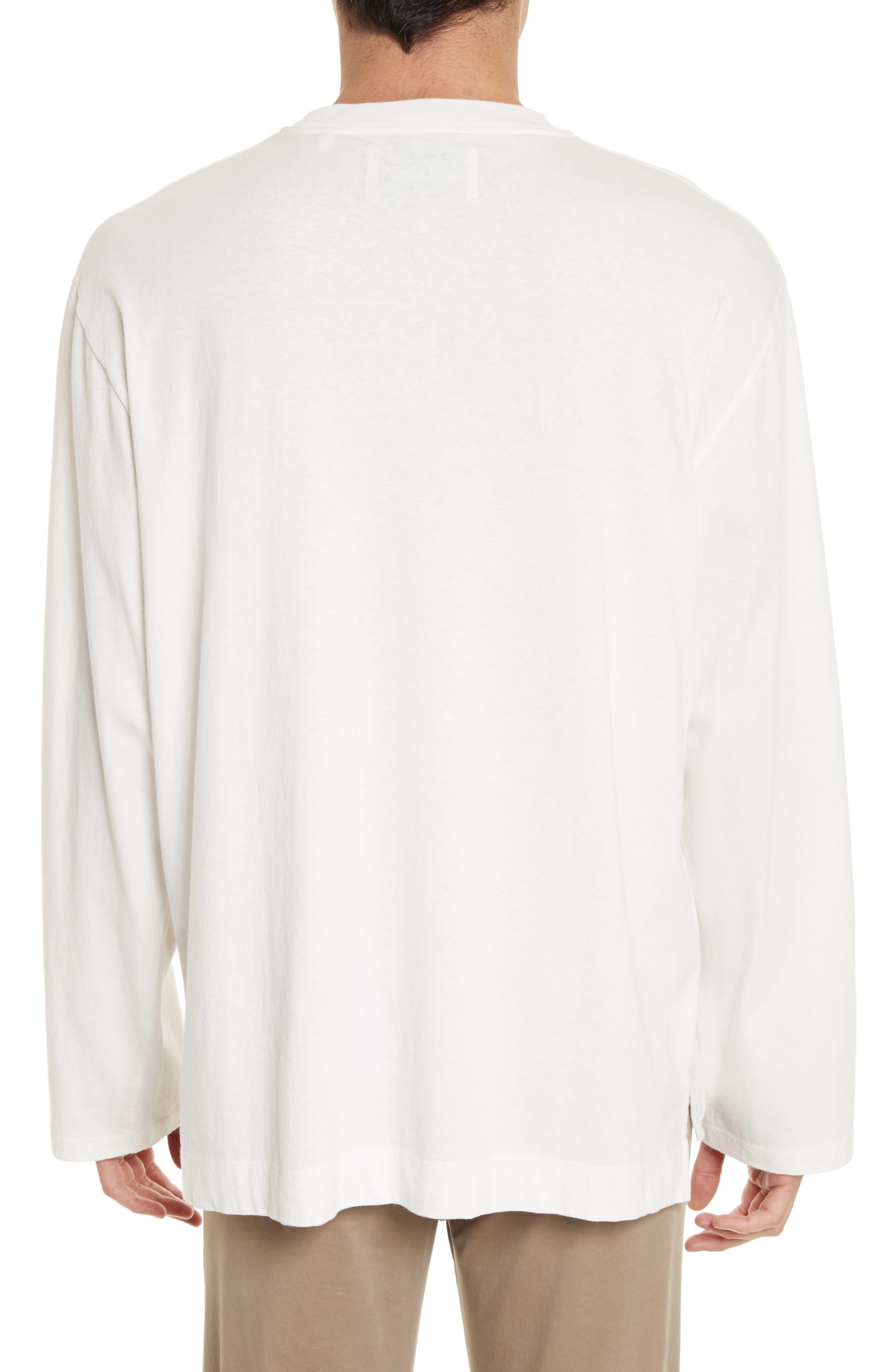 Box Fit Pocket T-Shirt,                             Alternate thumbnail 2, color,                             WHITE
