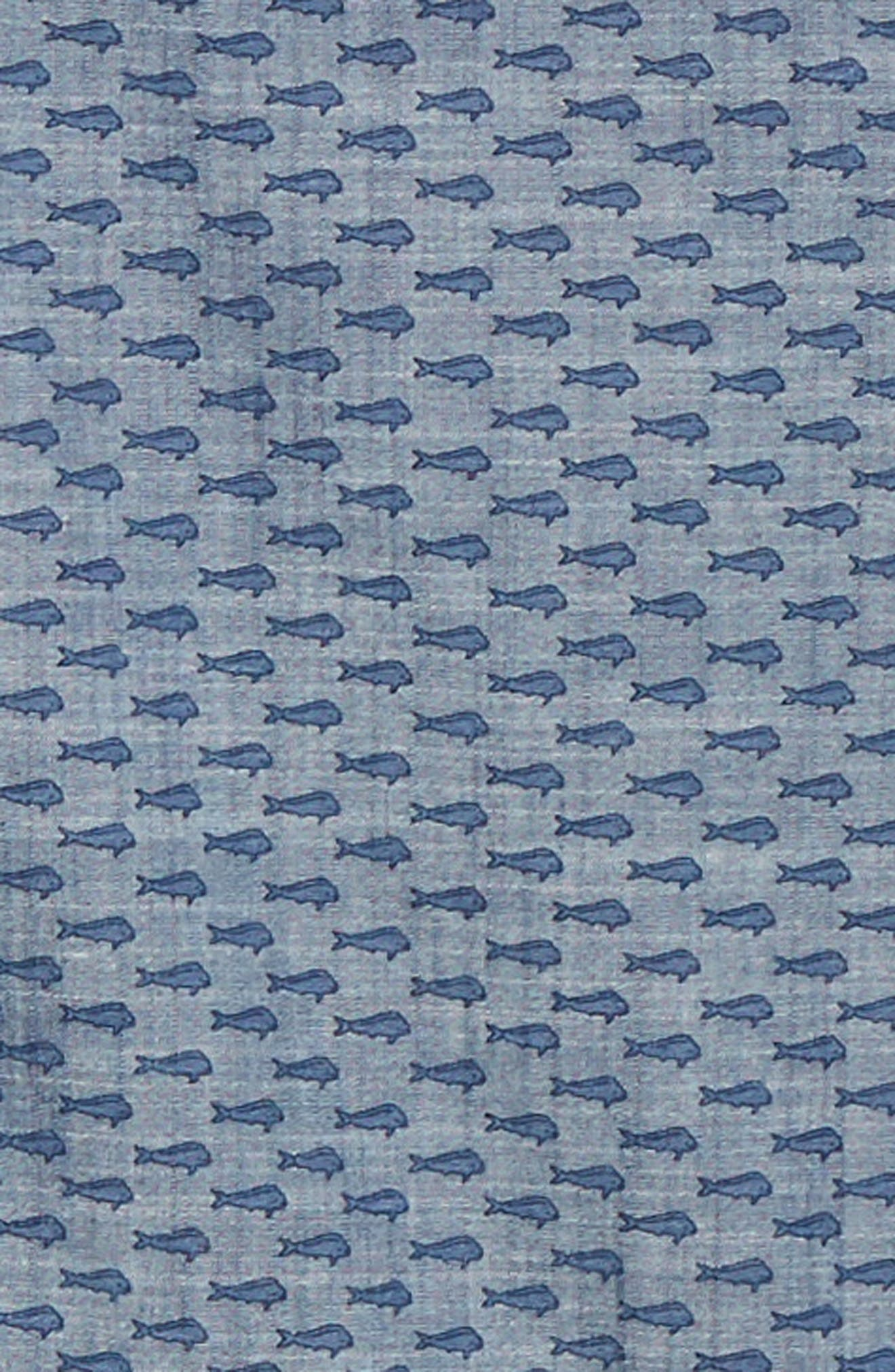 VINEYARD VINES,                             Murray Slim Fit Sport Shirt,                             Alternate thumbnail 6, color,                             SKYFALL