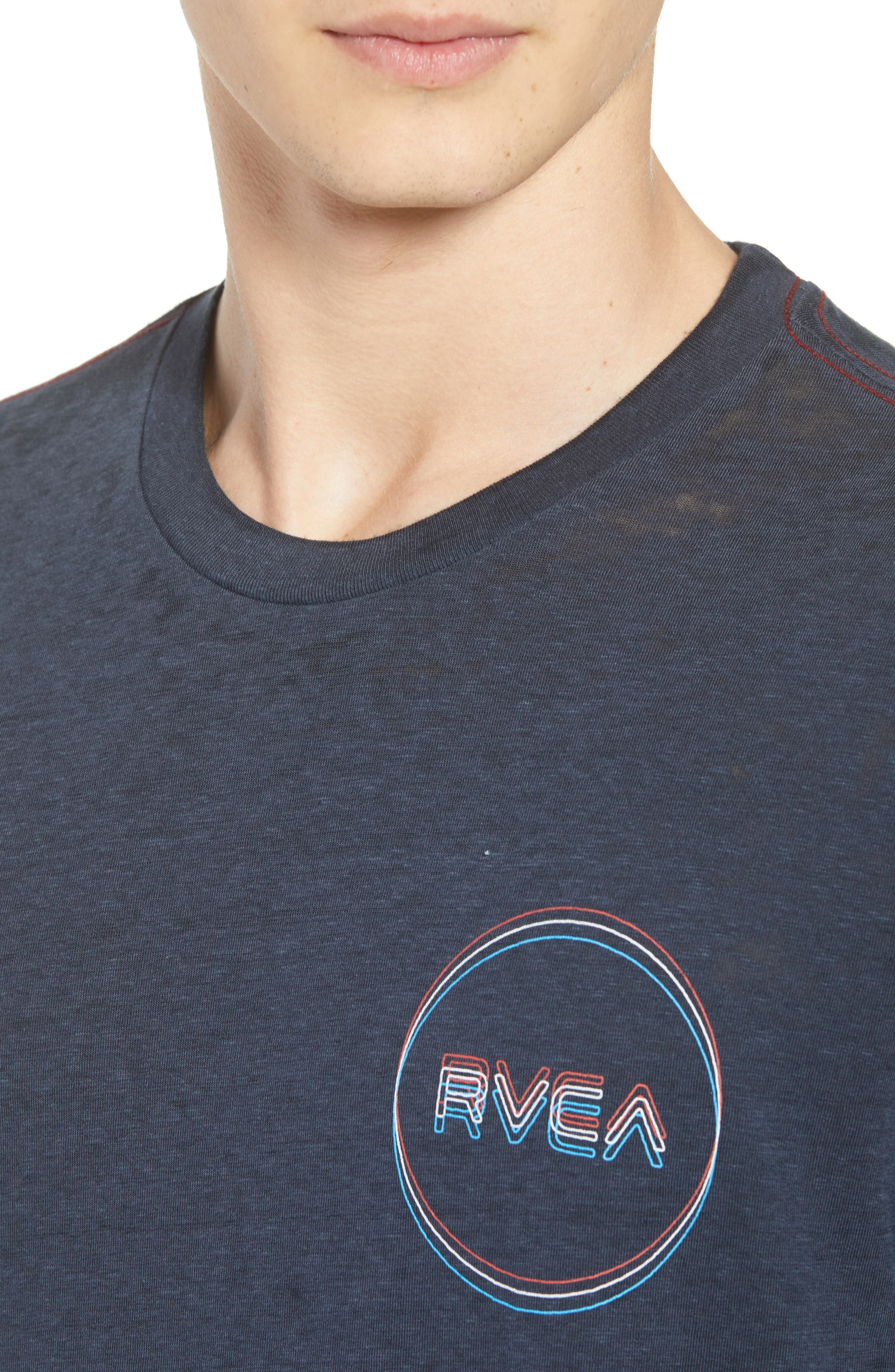 Tri-Motors Burnout T-Shirt,                             Alternate thumbnail 4, color,                             063