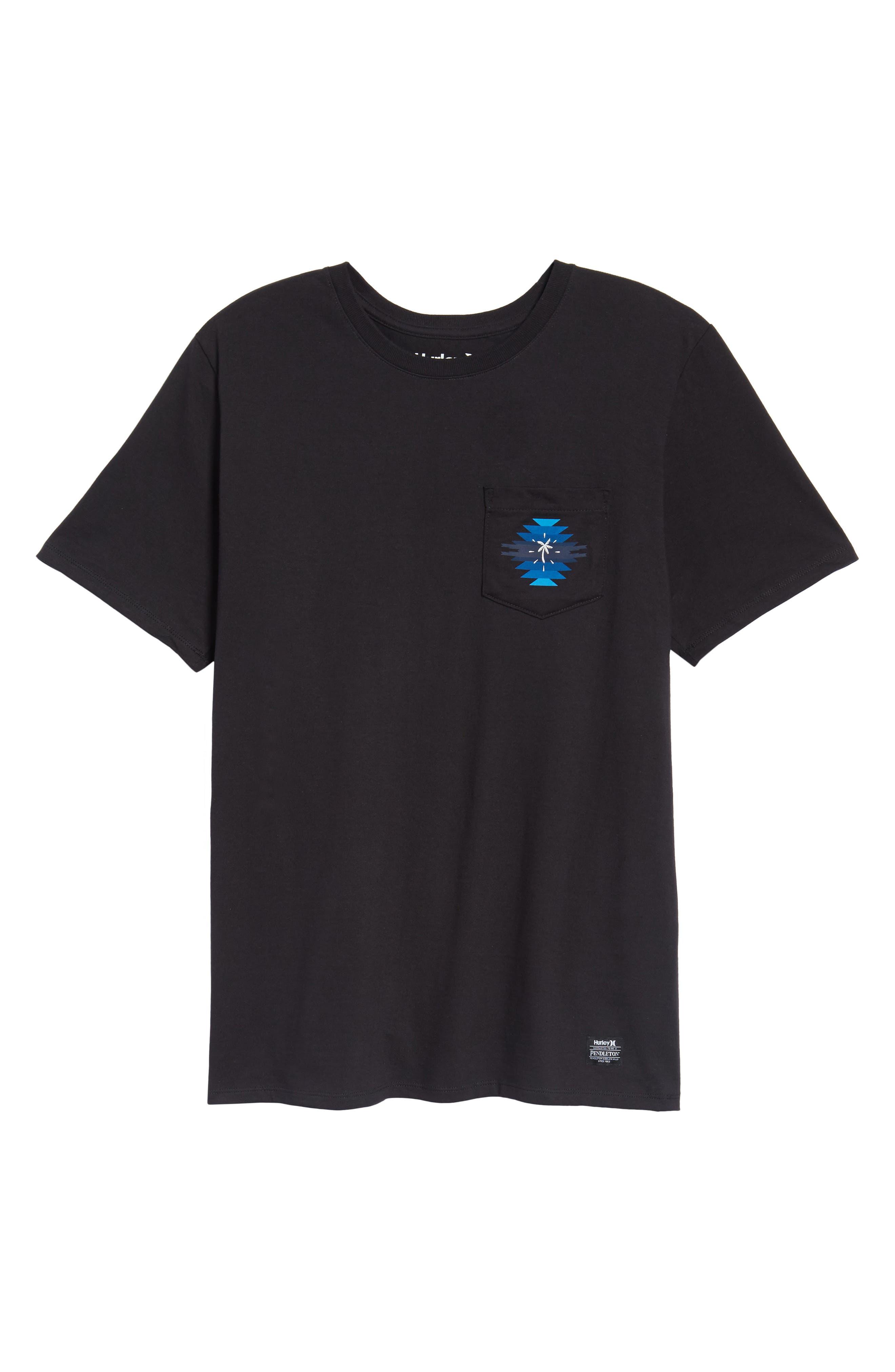 x Pendleton Pocket T-Shirt,                             Alternate thumbnail 6, color,                             010