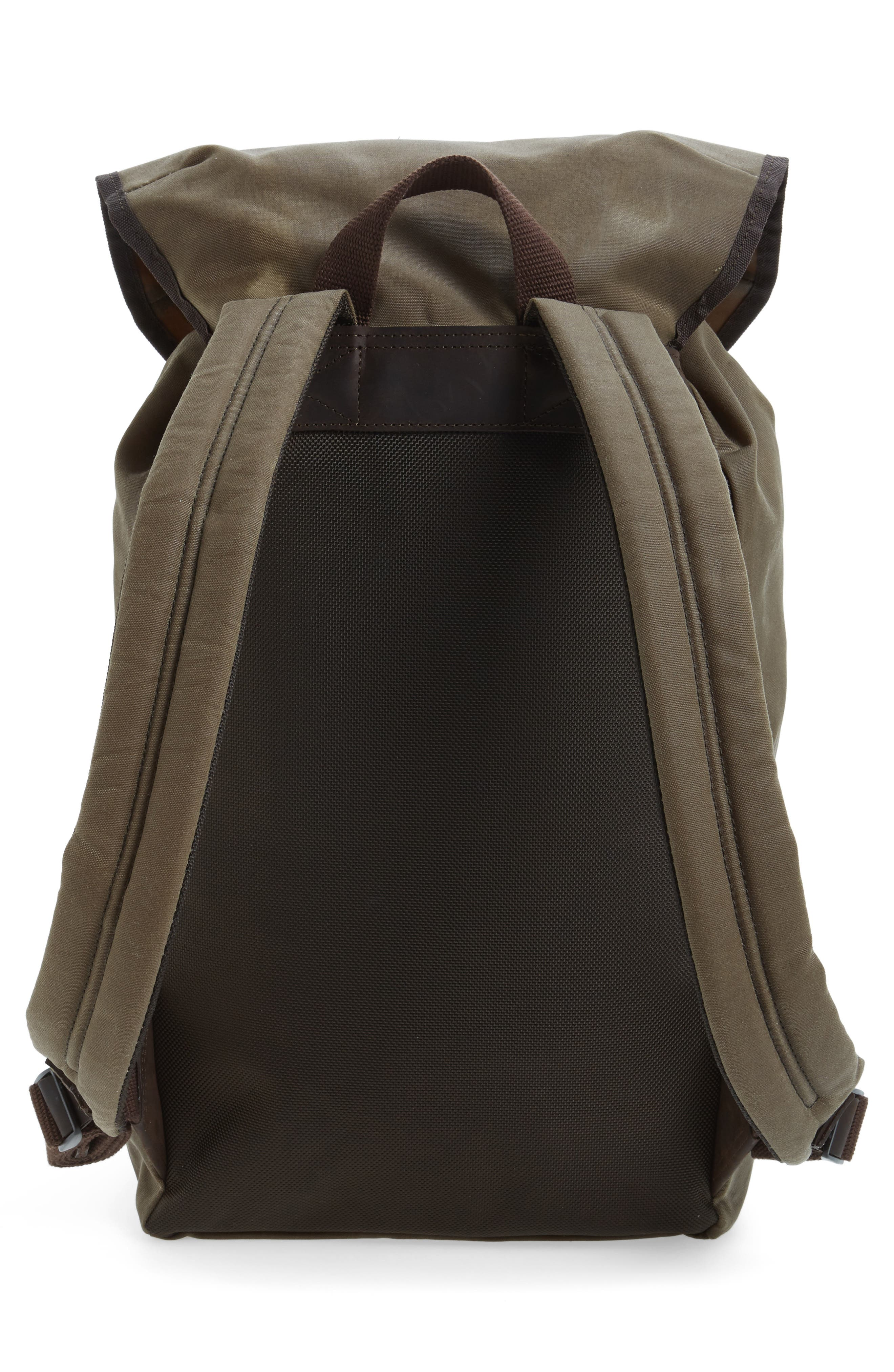 Waxed Canvas Backpack,                             Alternate thumbnail 3, color,                             220