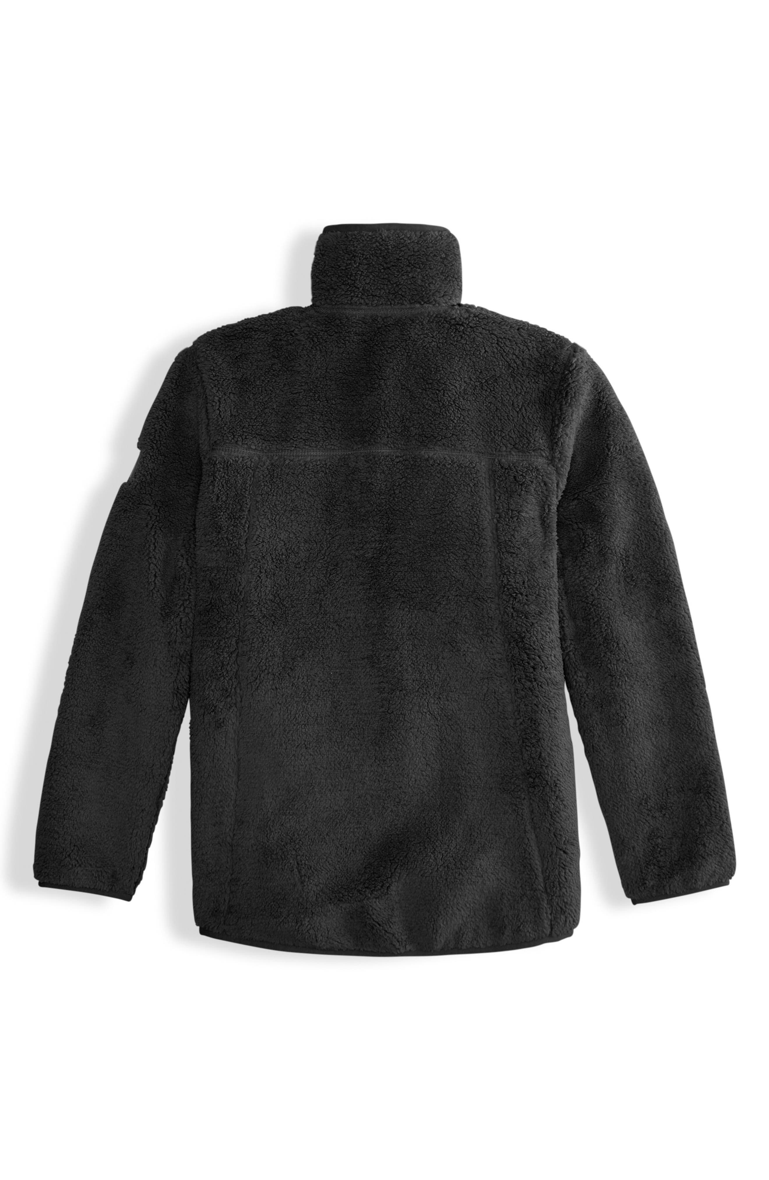 Campshire Fleece Jacket,                             Alternate thumbnail 2, color,                             TNF BLACK
