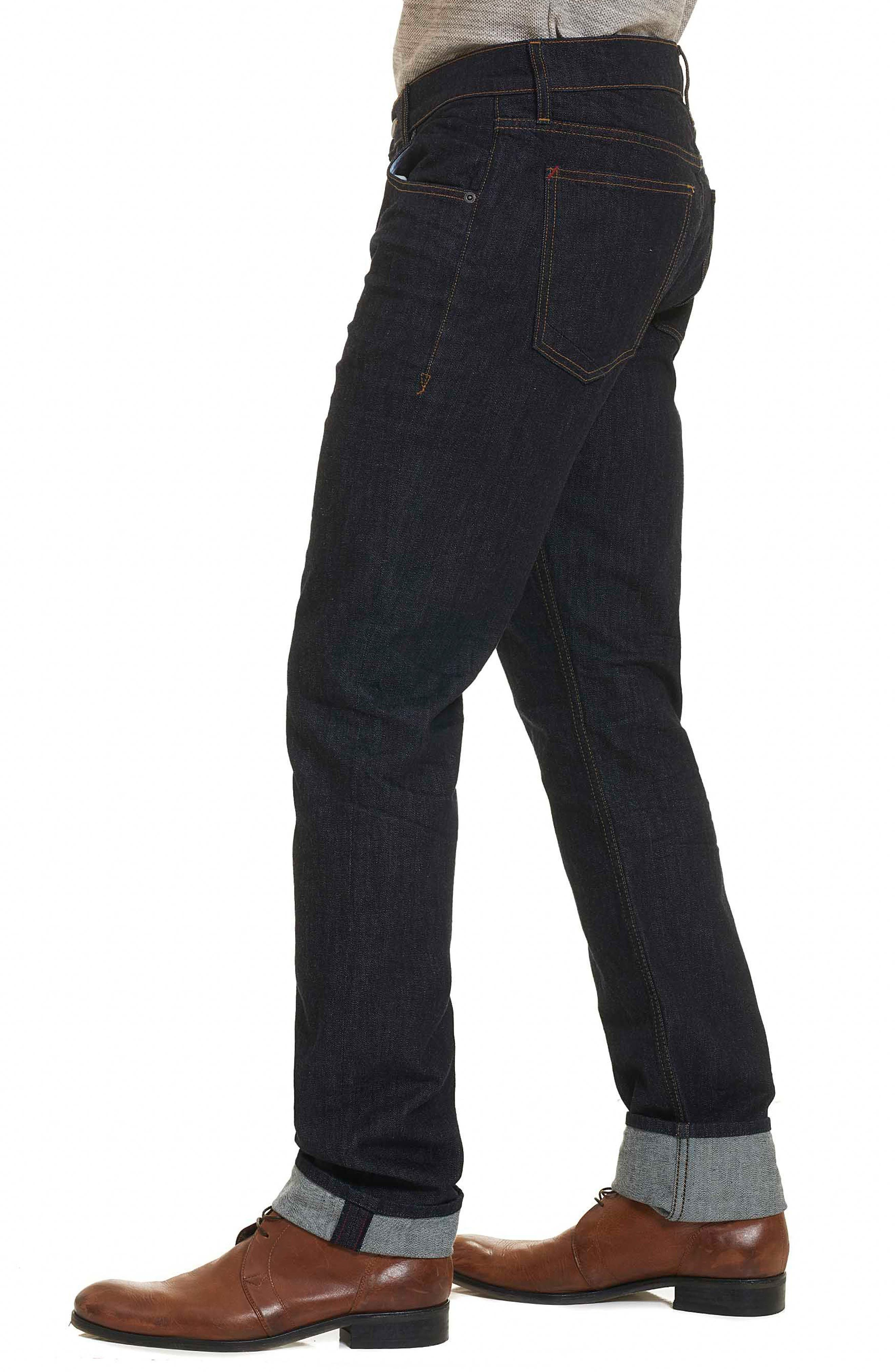 Resist Tailored Fit Jeans,                             Alternate thumbnail 3, color,                             405