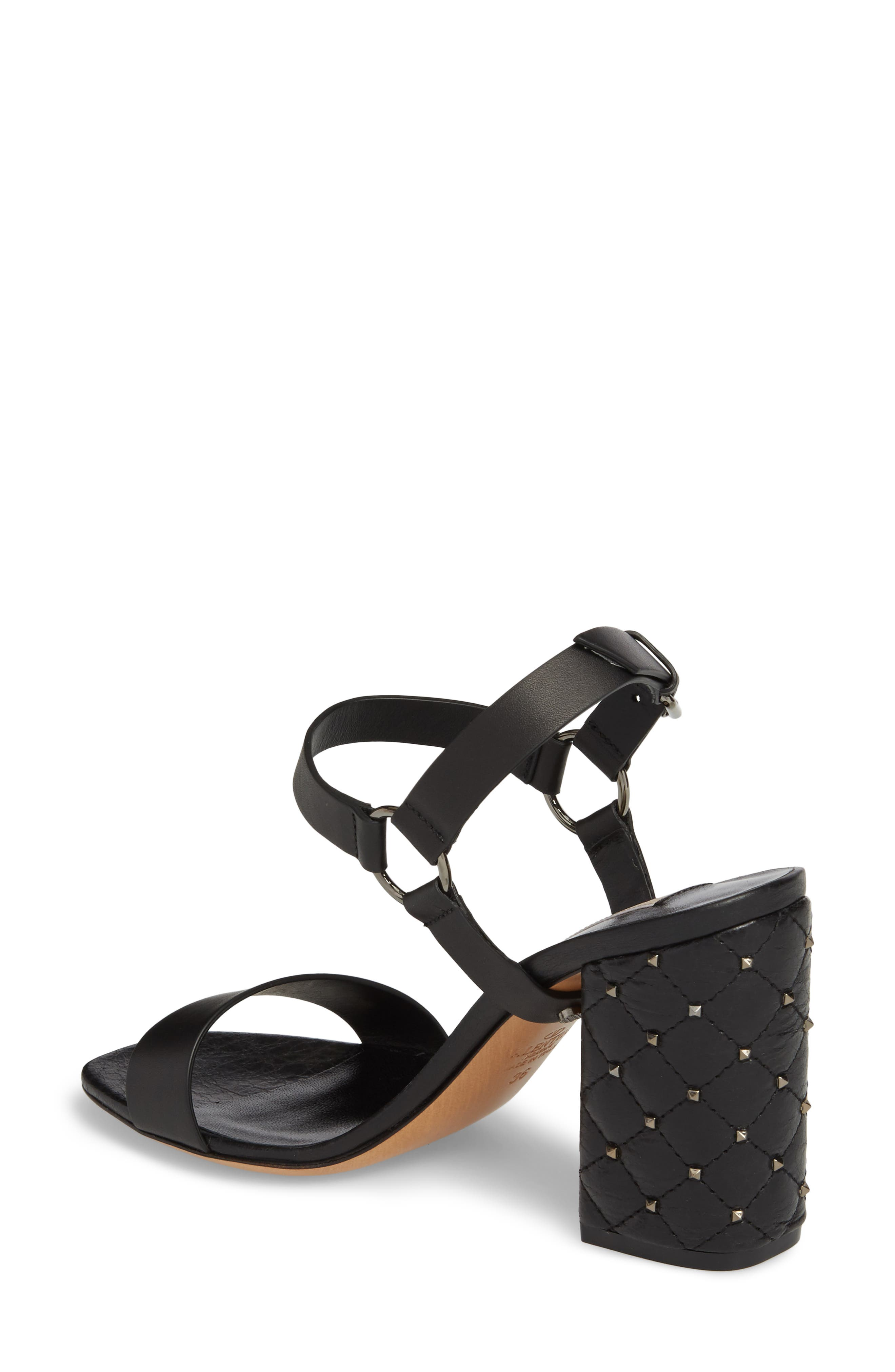 Rockstud Sandal,                             Alternate thumbnail 2, color,                             001