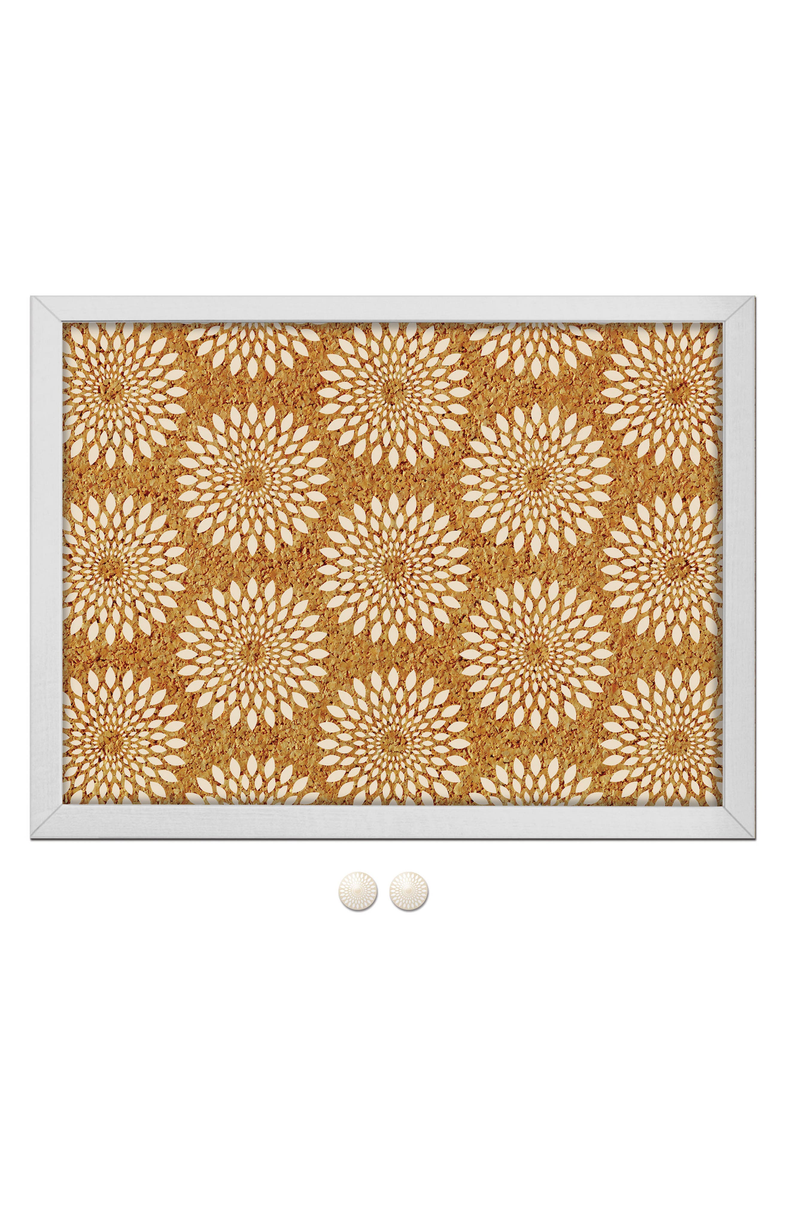 WALLPOPS,                             Catalina Print Cork Board,                             Main thumbnail 1, color,                             200