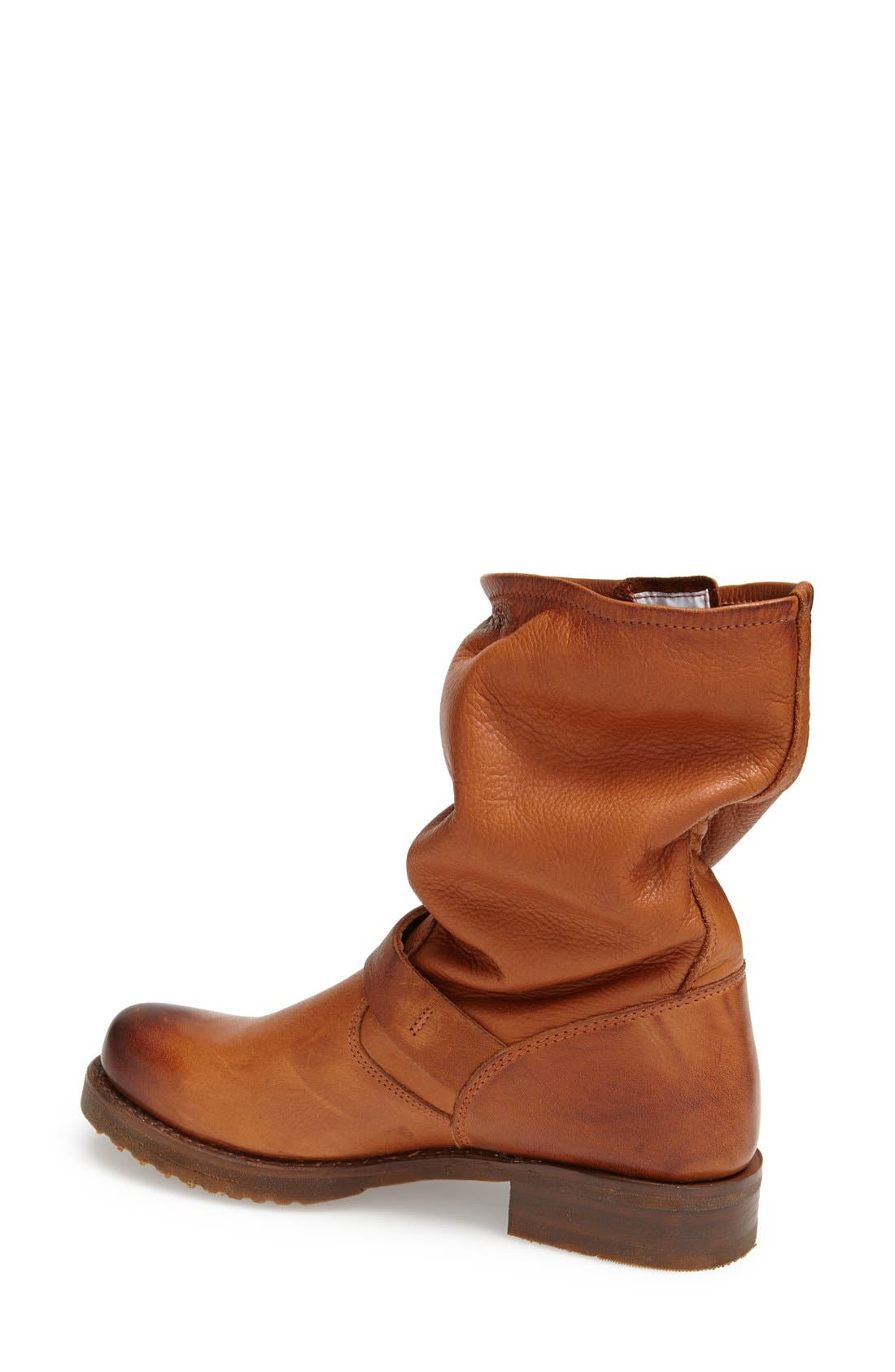 'Veronica Short' Slouchy Boot,                             Alternate thumbnail 33, color,