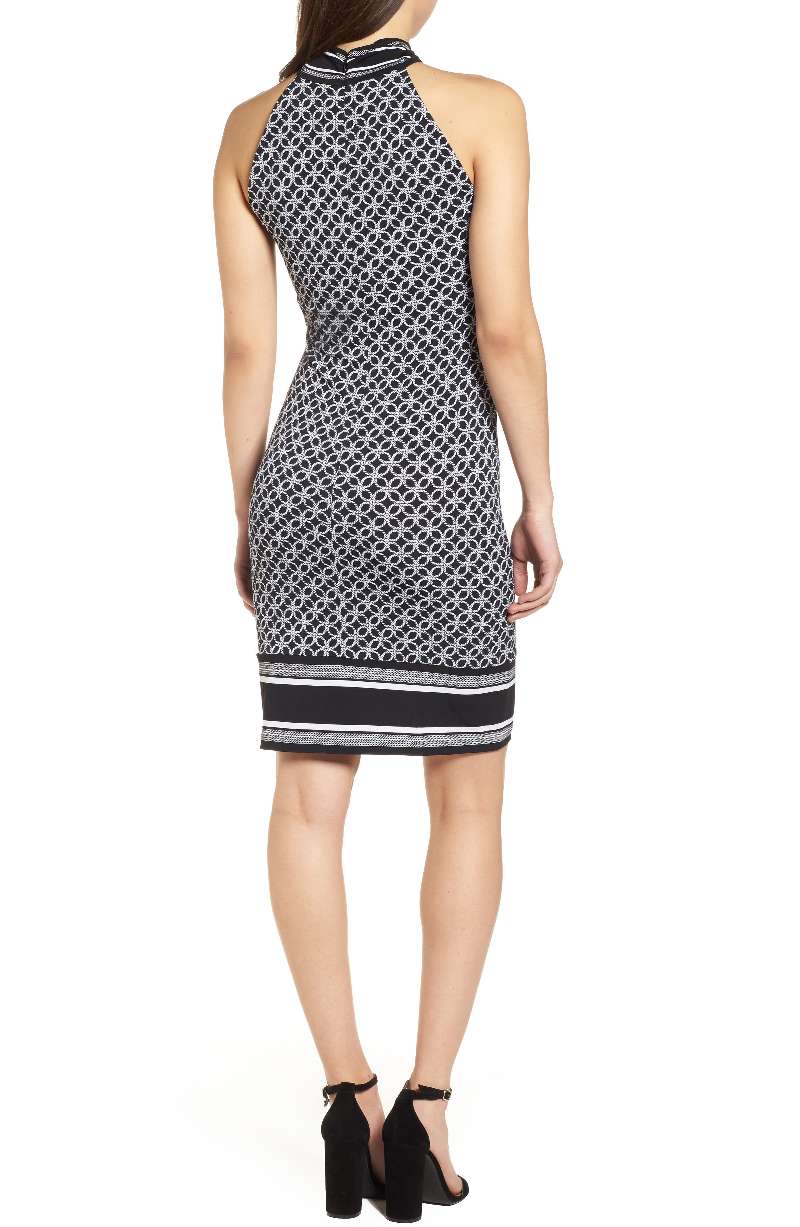 Rope Twist Body-Con Dress,                             Alternate thumbnail 2, color,