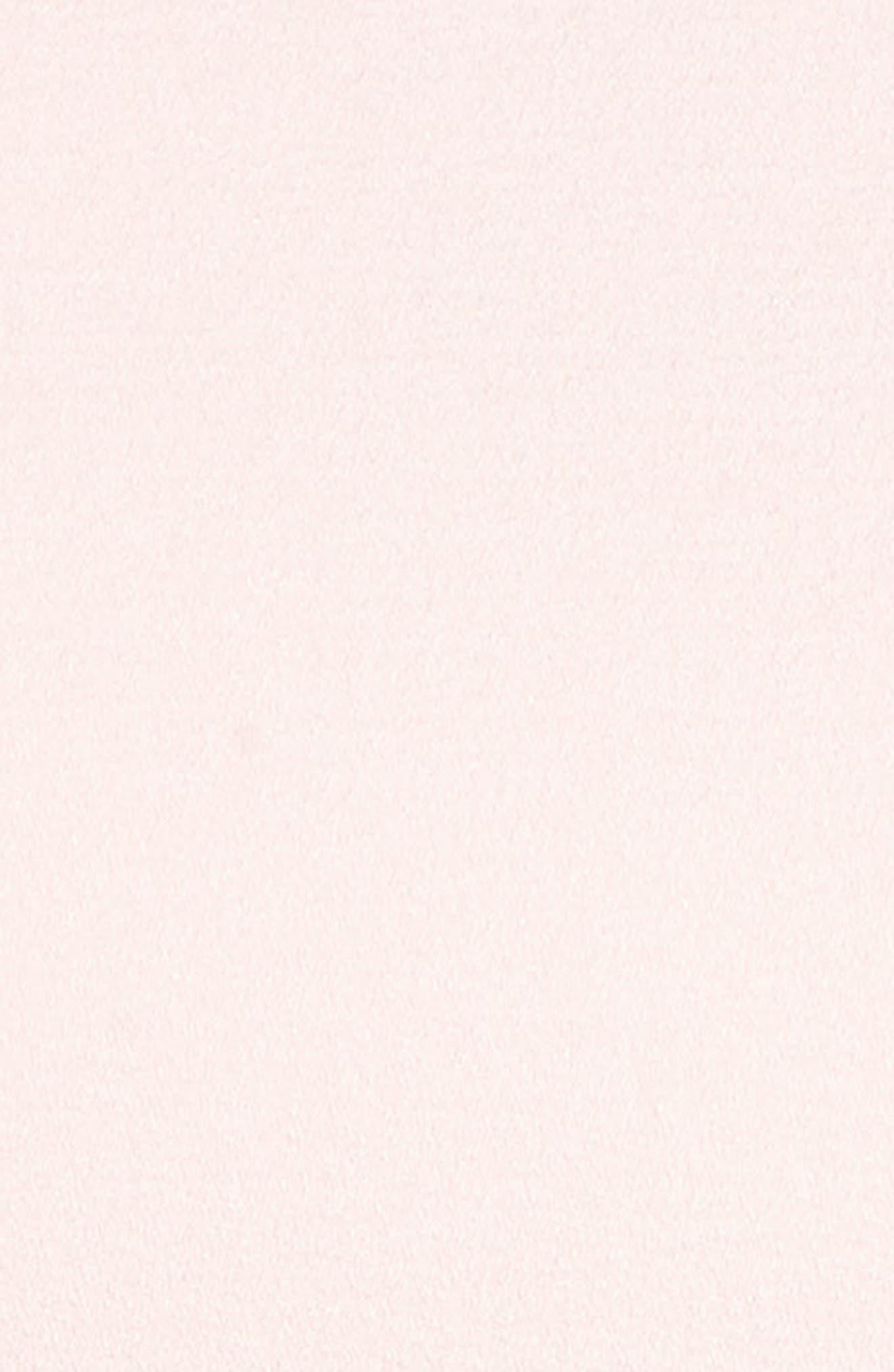 Bell Sleeve Fit & Flare Dress,                             Alternate thumbnail 6, color,                             BLUSH